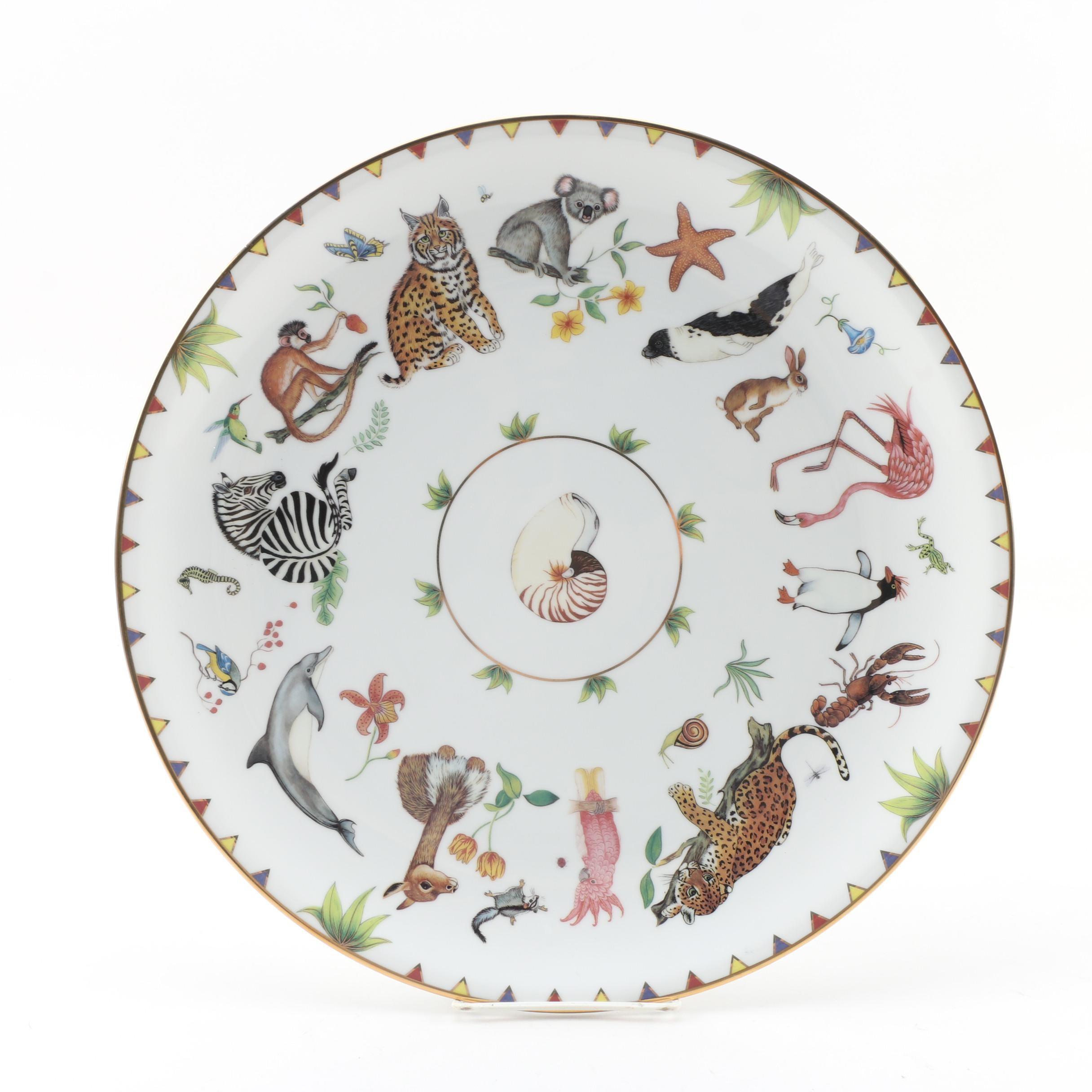 "Lynn Chase ""Harmony"" Porcelain Chop Plate"