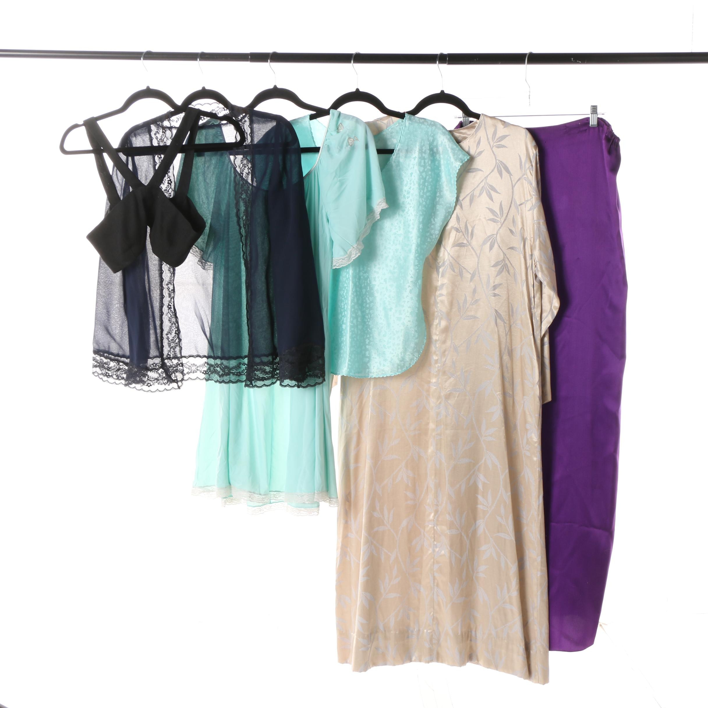 Women's Vintage Sleepwear including Ruth Norman and Ralph Montenero
