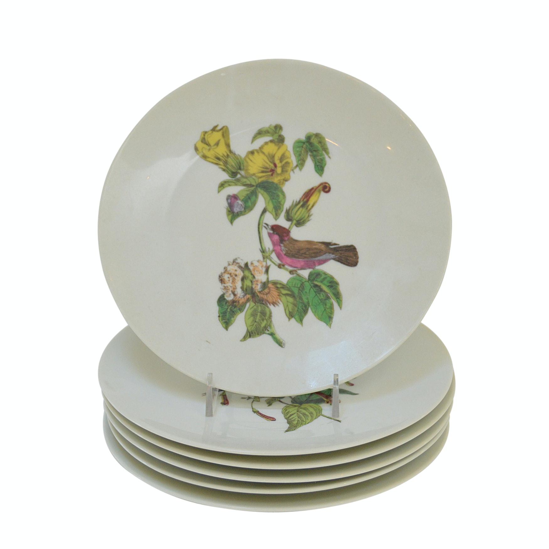 Set of Gerard Dufraisseix Abbot Limoges Salad Plates