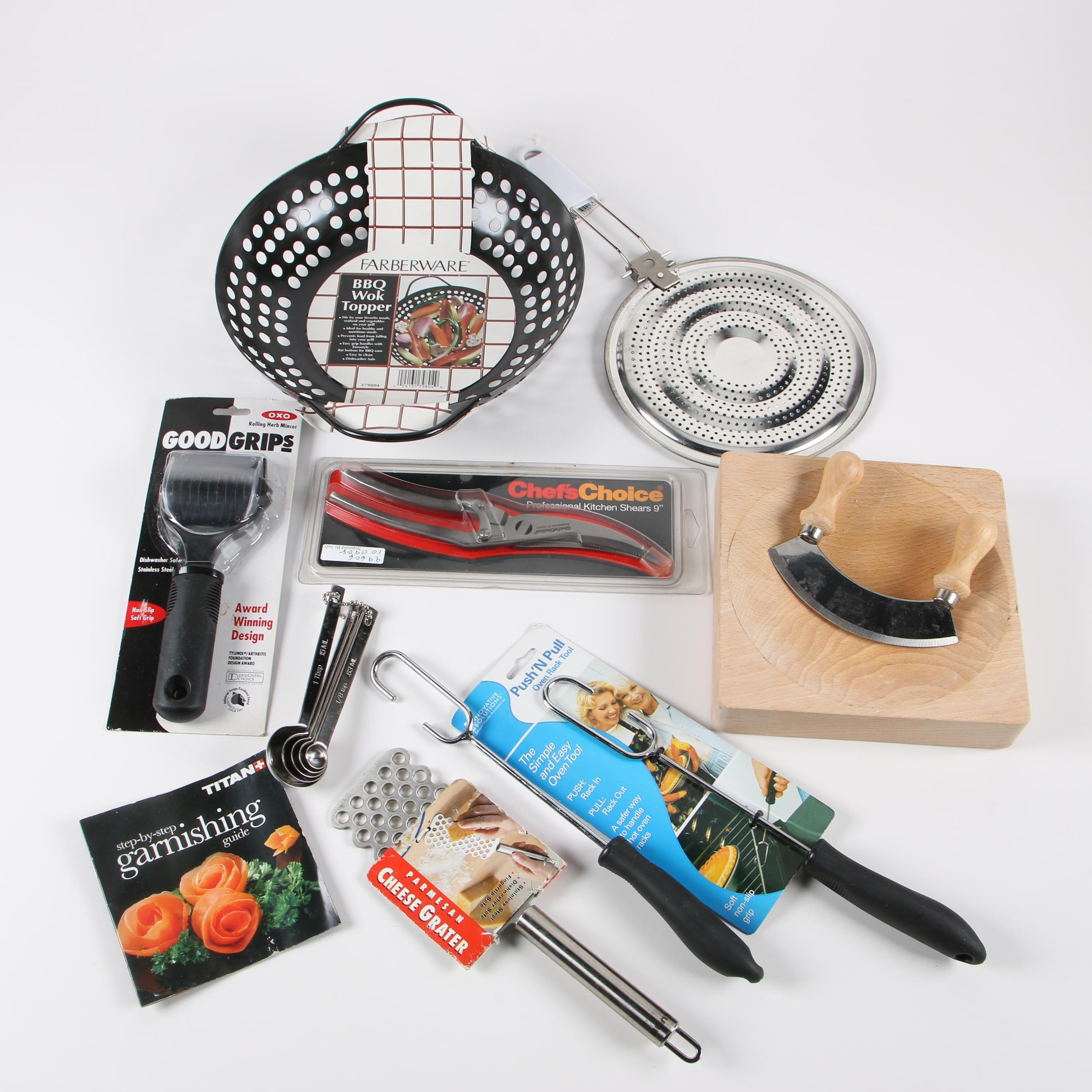 Kitchen Gadgets, Tools, and Cookware