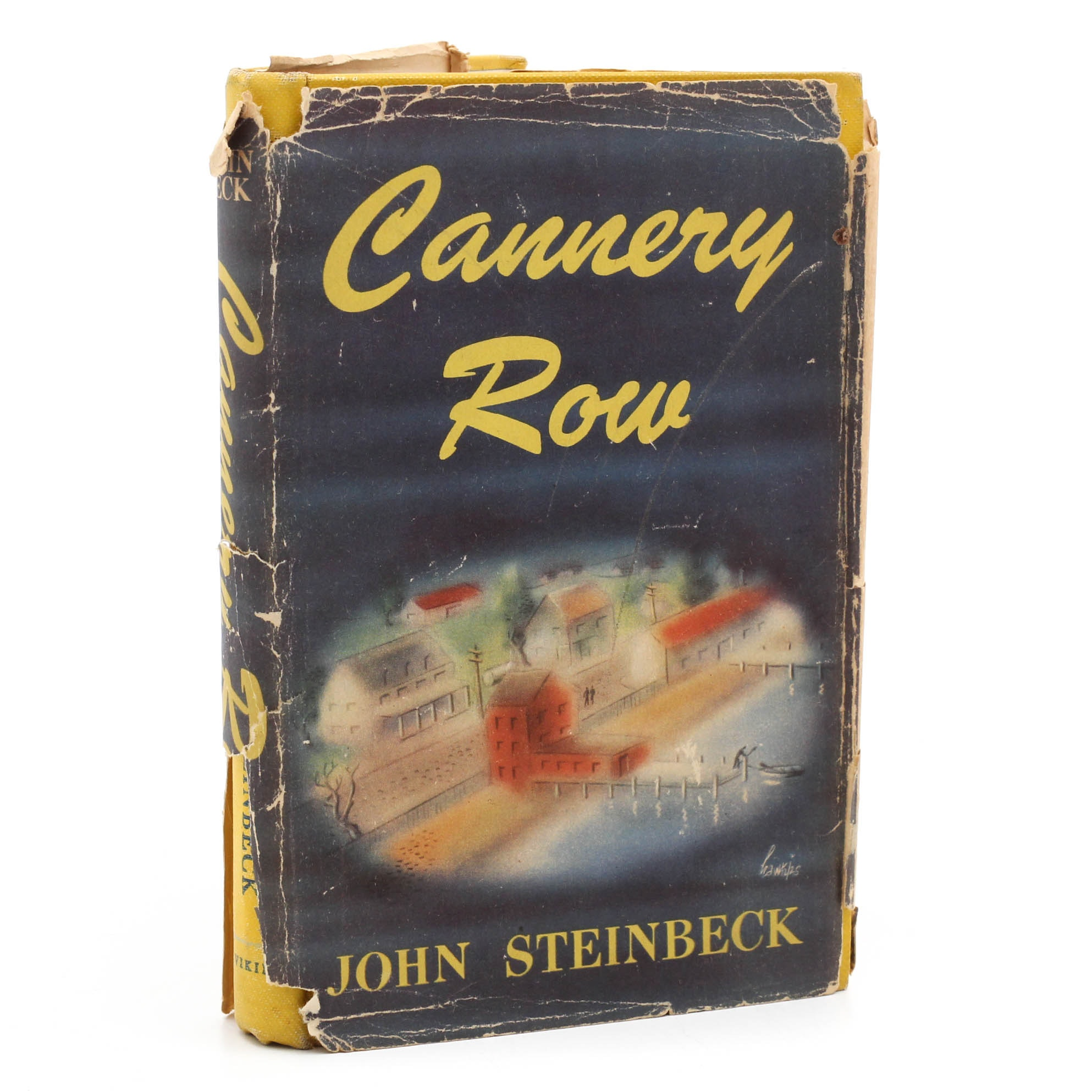 """First Edition Third Printing John Steinbeck """"Cannery Row"""""""