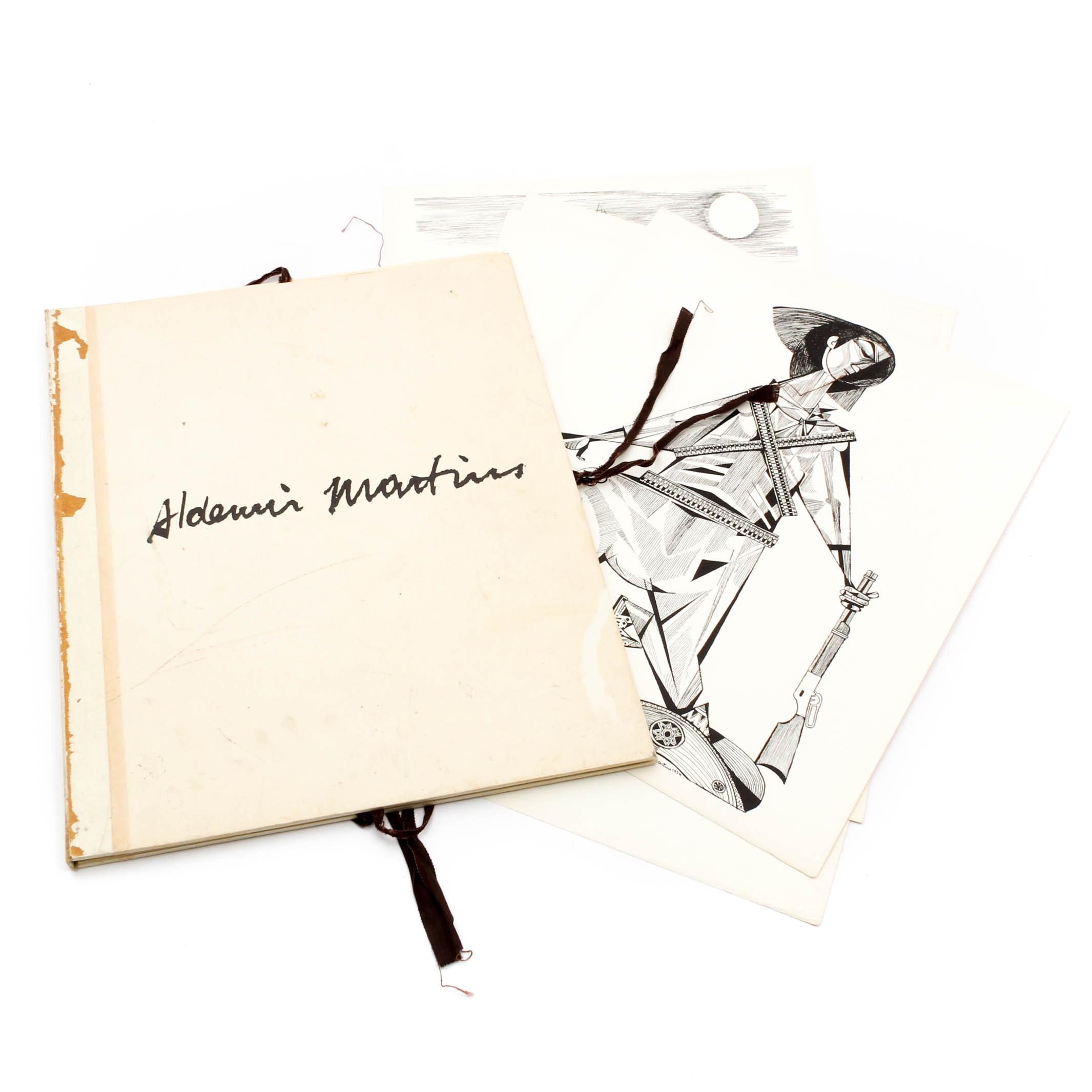 """Aldemir Martins """"Mestres do Desenho"""" Portfolio"""
