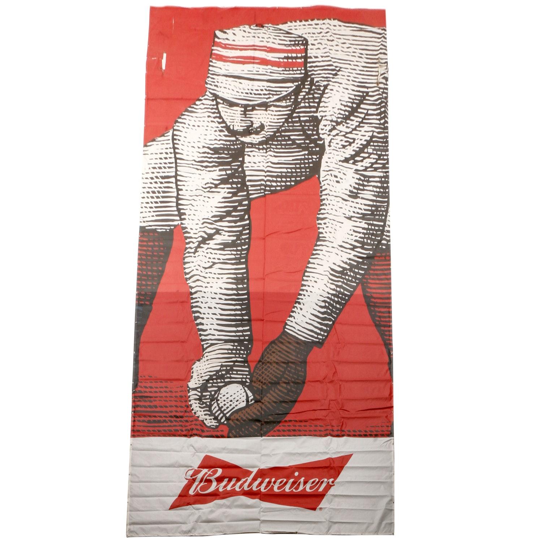 Budweiser 1869 Reds Player Mesh Building Sign