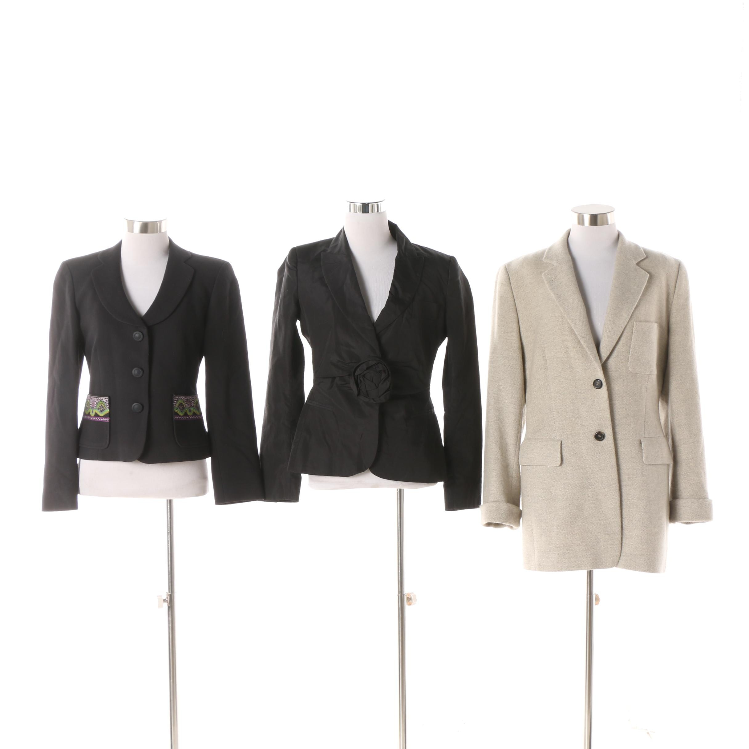 Women's 1990s Jackets including Christian Lacroix and Moschino Cheap and Chic