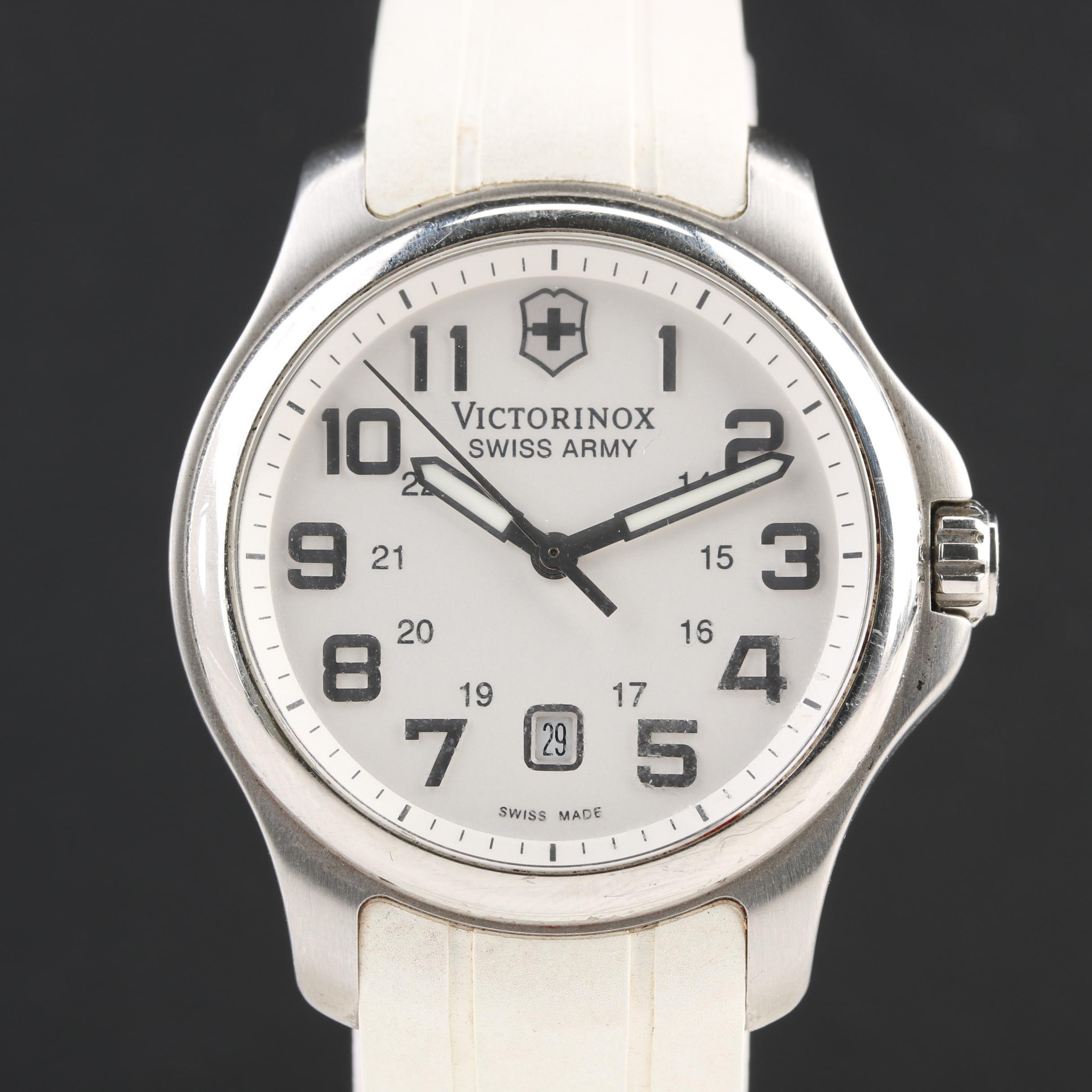 Victorinox Swiss Army Stainless Steel Wristwatch