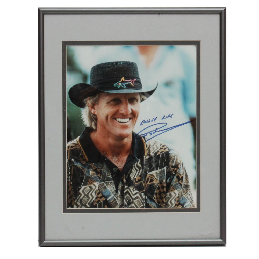 Greg Norman Signed Photograph