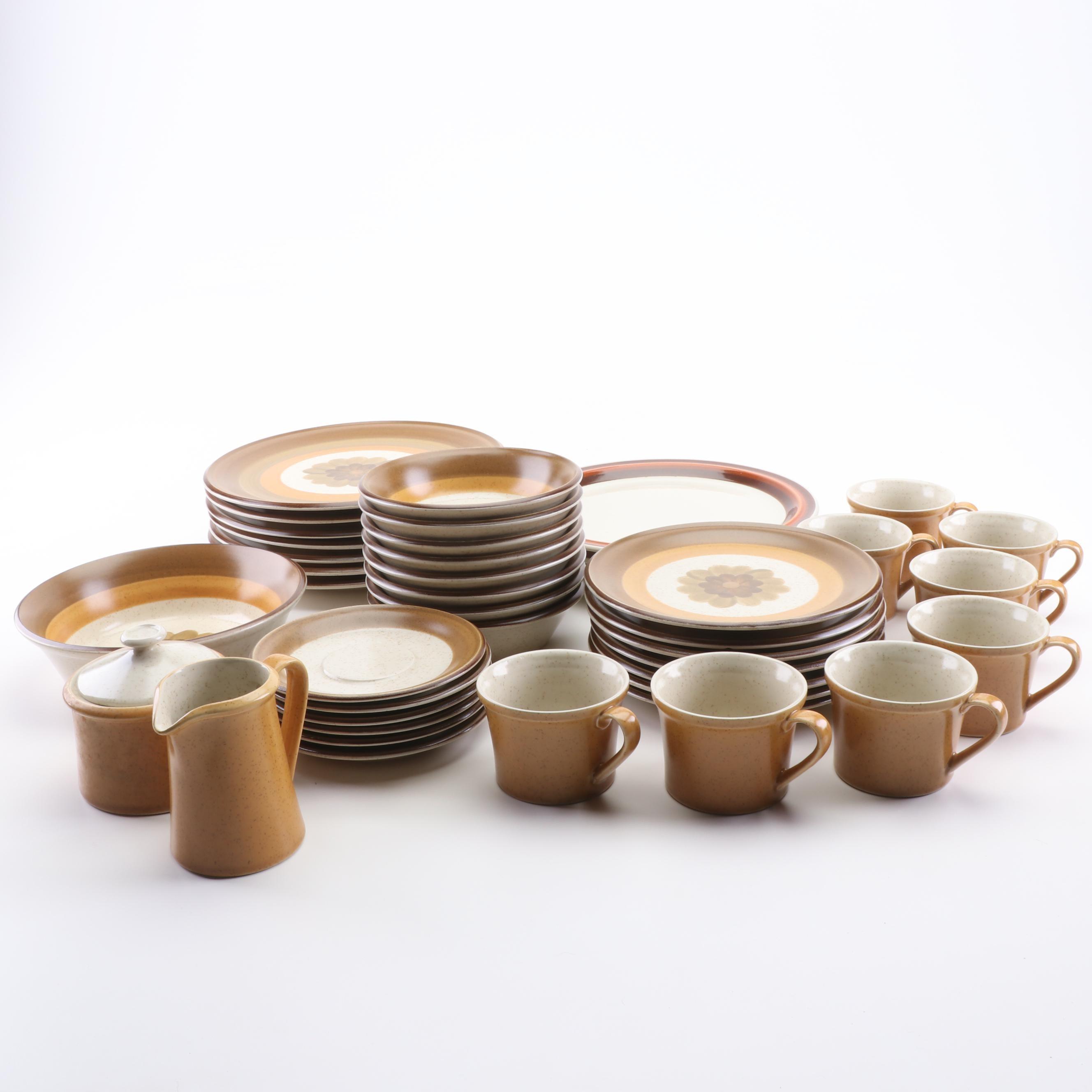 """Mioko """"Coronet"""" Stoneware Dinnerware"""