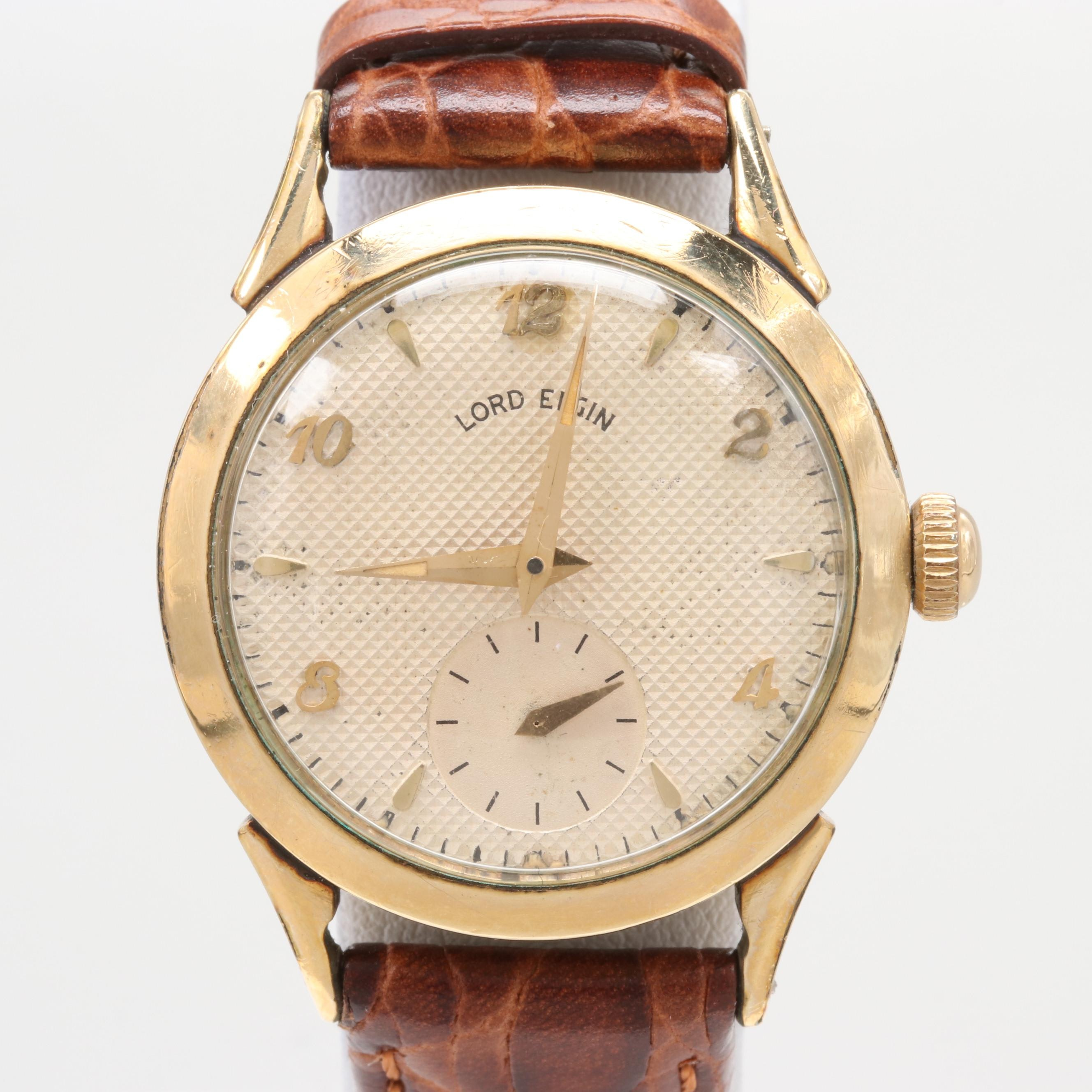 Lord Elgin 14K Gold Filled Wristwatch