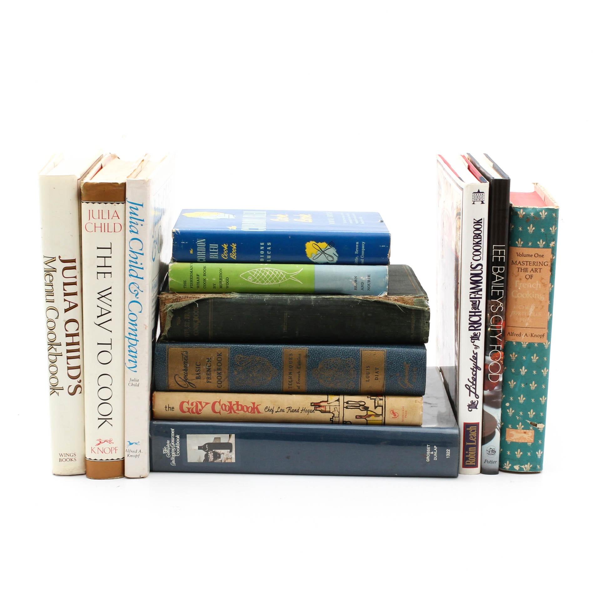 Cookbooks Featuring Julia Child