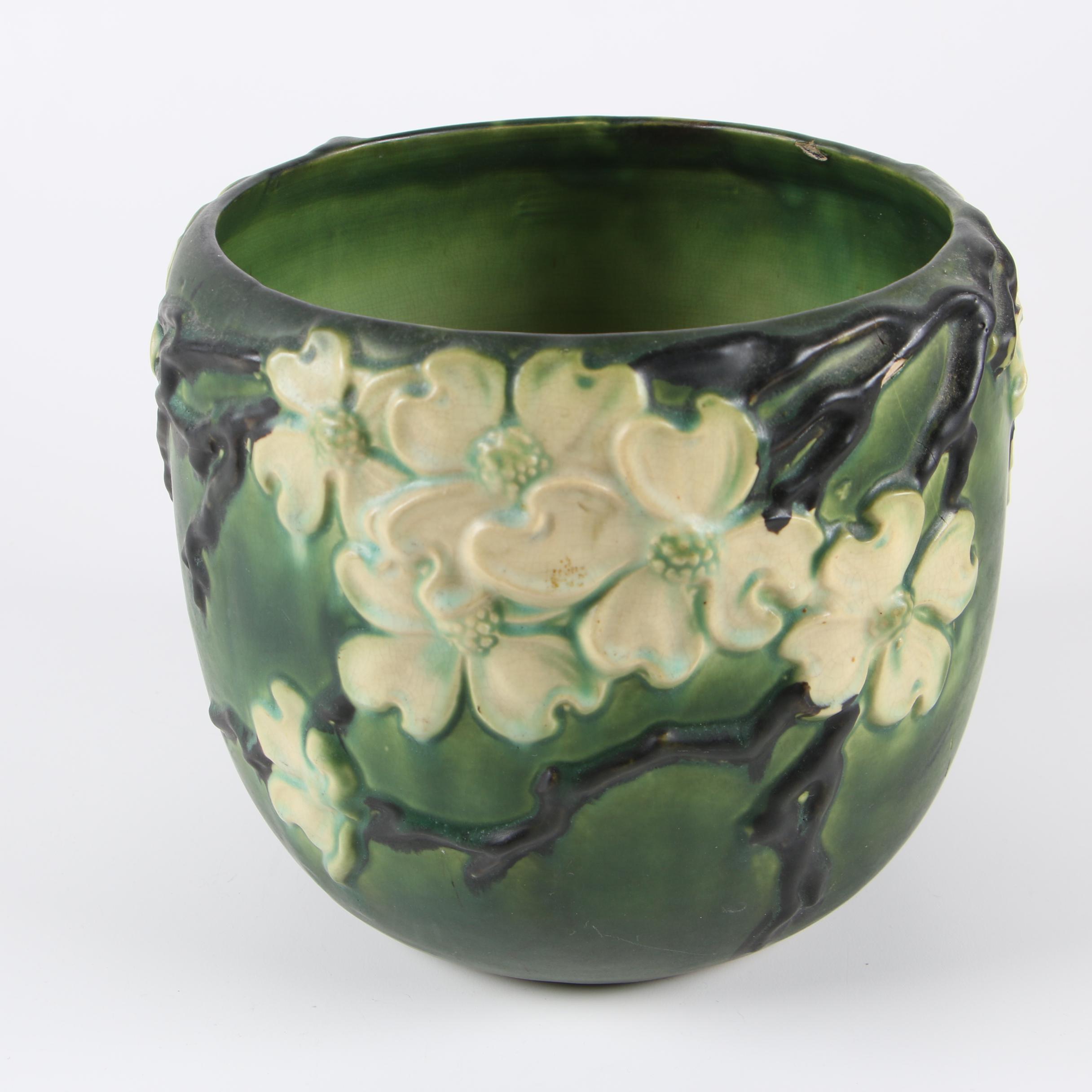 "Roseville Pottery ""Dogwood II"" Jardinière, circa 1920"