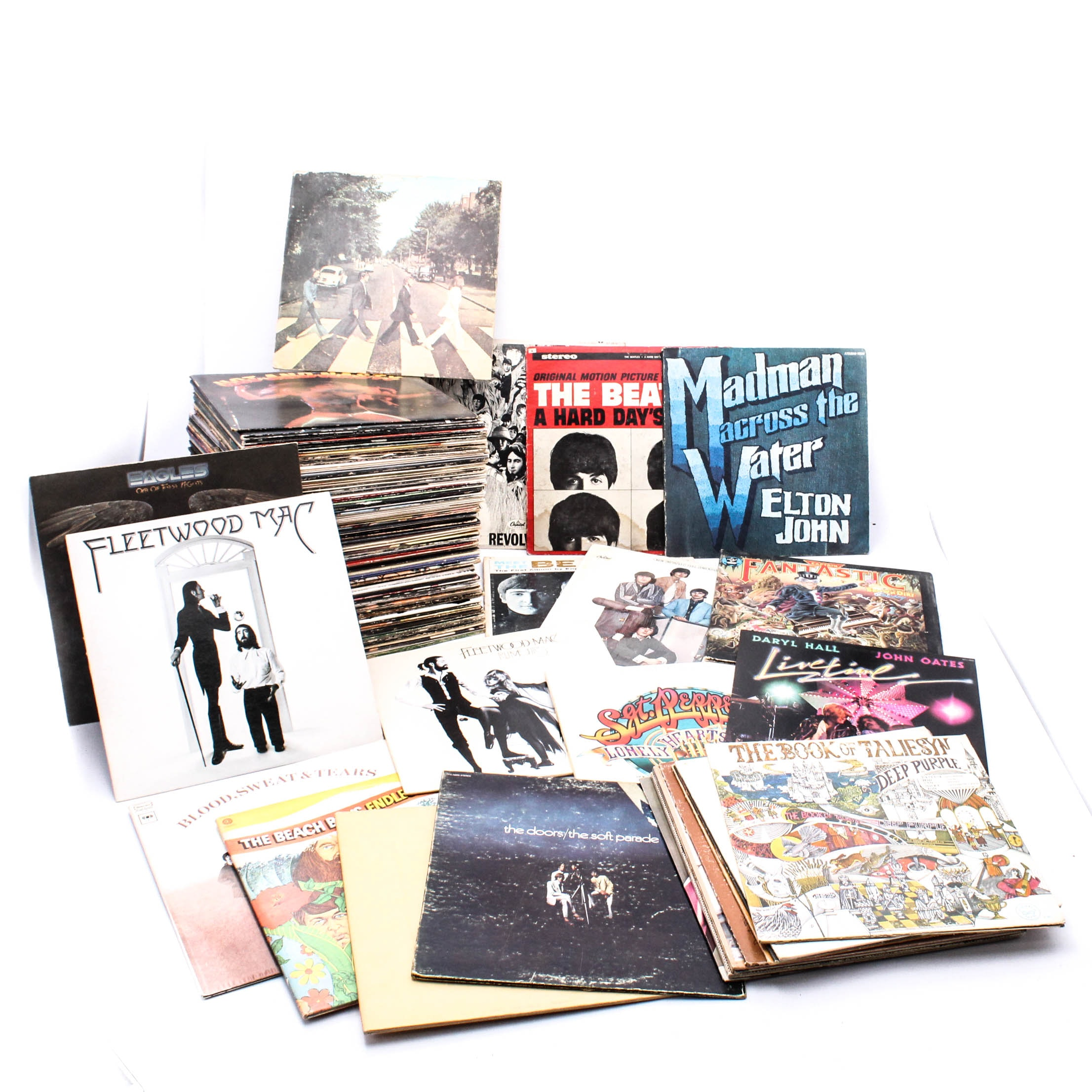 Classic Rock LP Records Collection