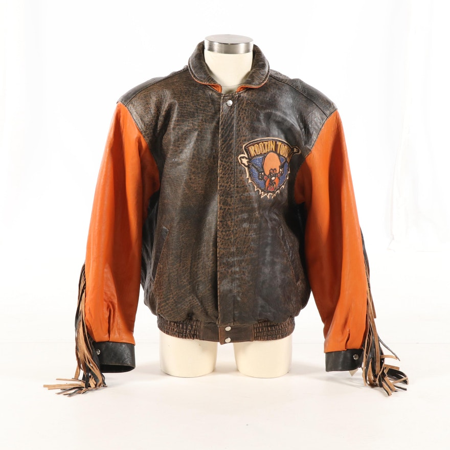 f6a47349a076 Men s Jeff Hamilton Yosemite Sam Leather Jacket   EBTH