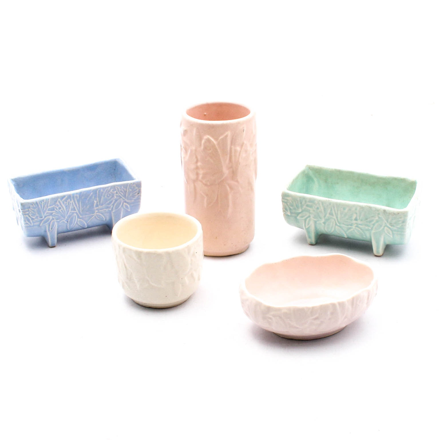 McCoy Pottery Butterfly Planters and Vases