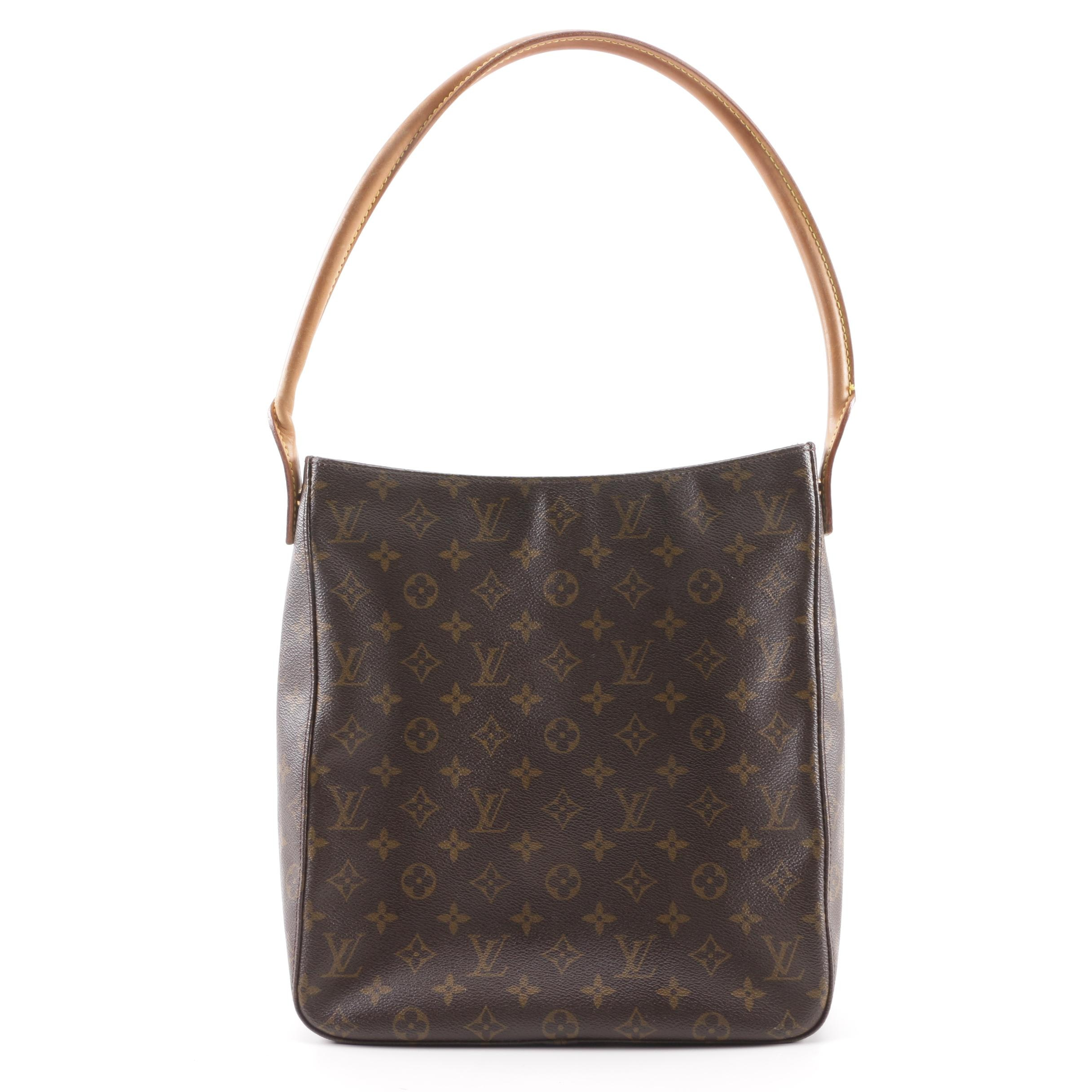 1999 Louis Vuitton Monogram Canvas Looping Tote