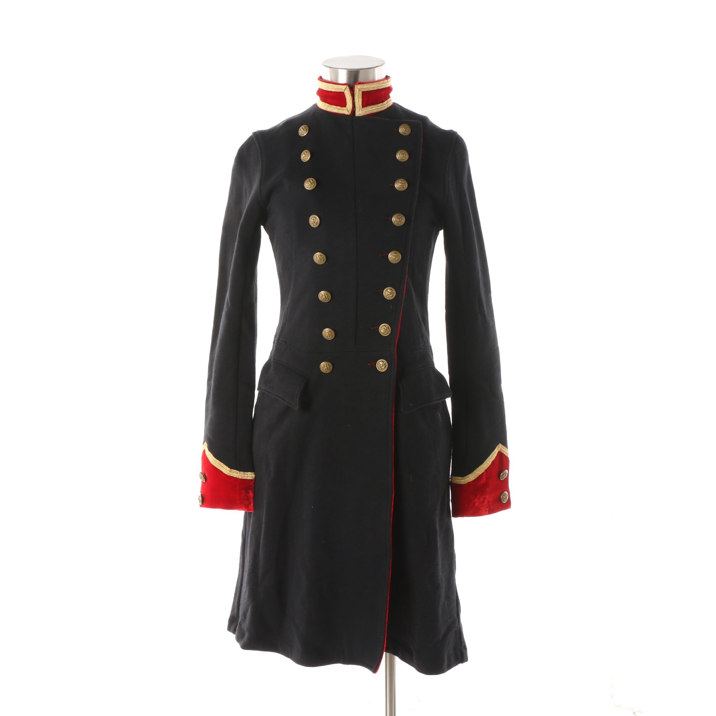 Women's Denim & Supply Ralph Lauren Black Military Style Jacket