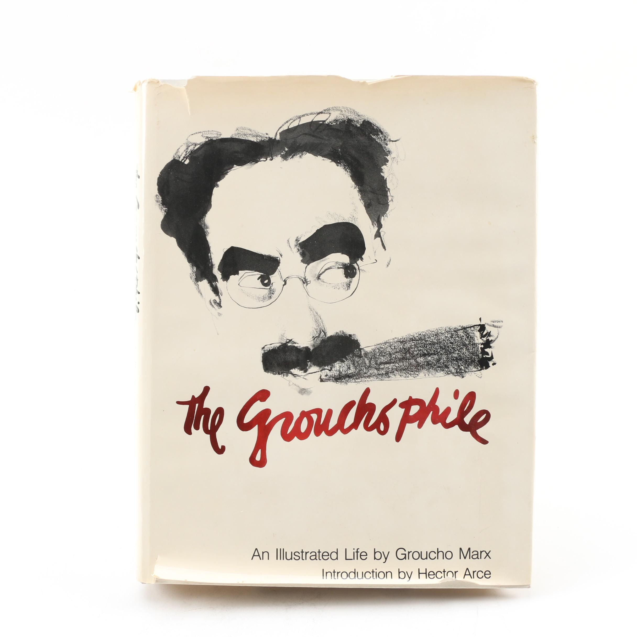"1976 First Printing ""The Groucho Phile: An Illustrated Life"" by Groucho Marx"