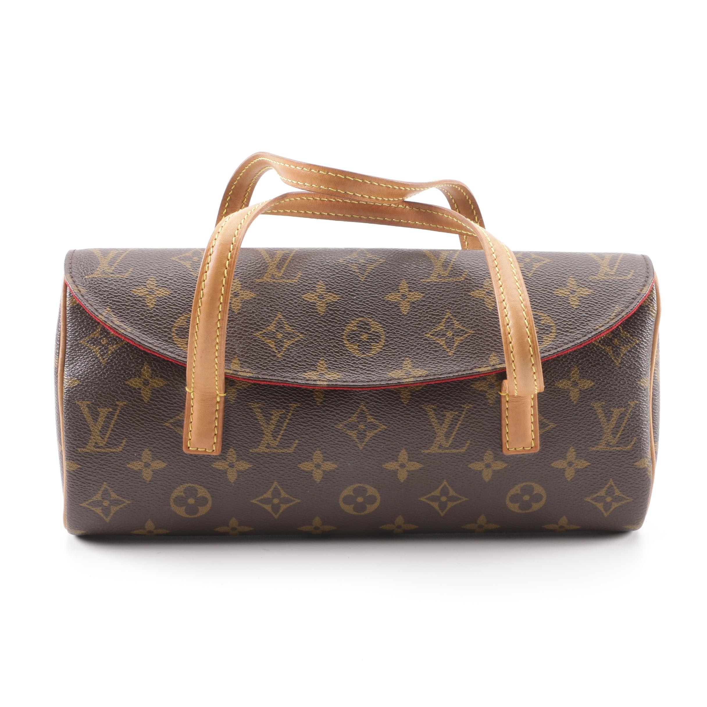 2002 Louis Vuitton Paris Monogram Canvas Sonatine Bag