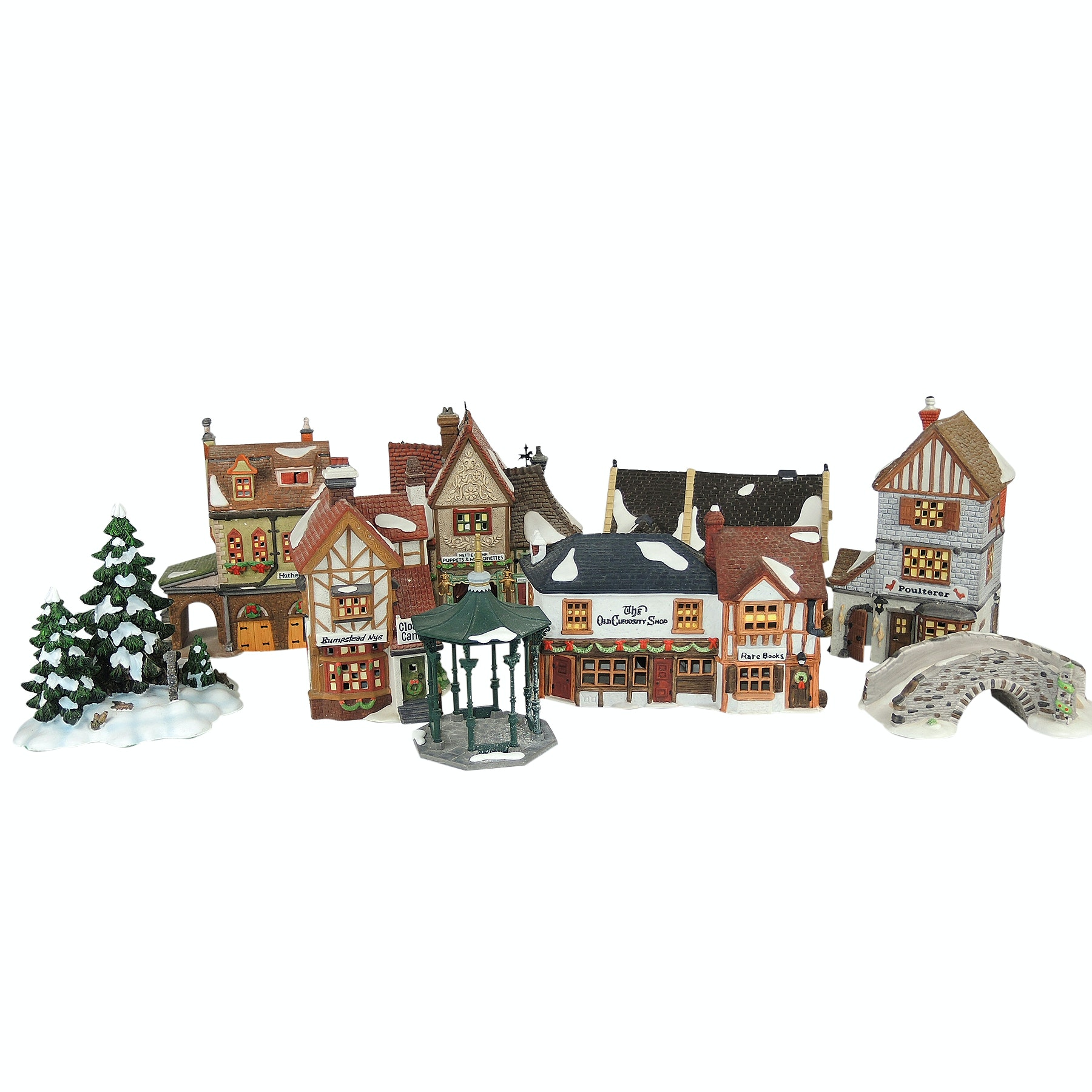 "Dept. 56 Heritage ""Dickens Series"" Christmas Village"