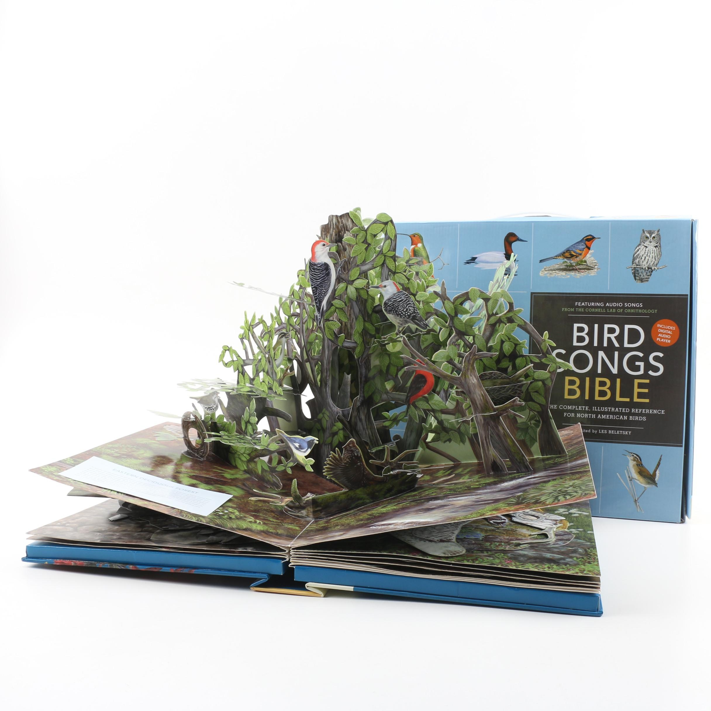 "Electronic ""Birdscapes"" and ""Bird Songs Bible"" Pop-Up Books"