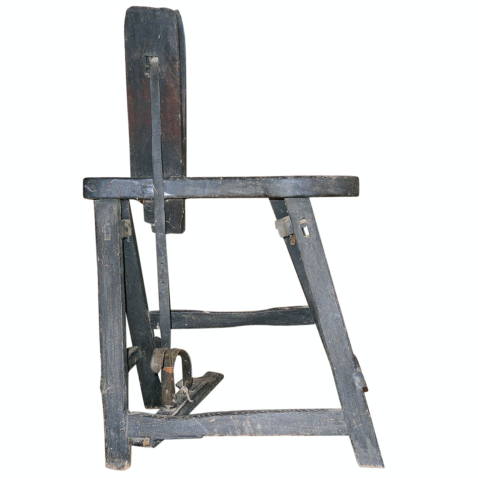 Antique Primitive Saddle Makers Bench