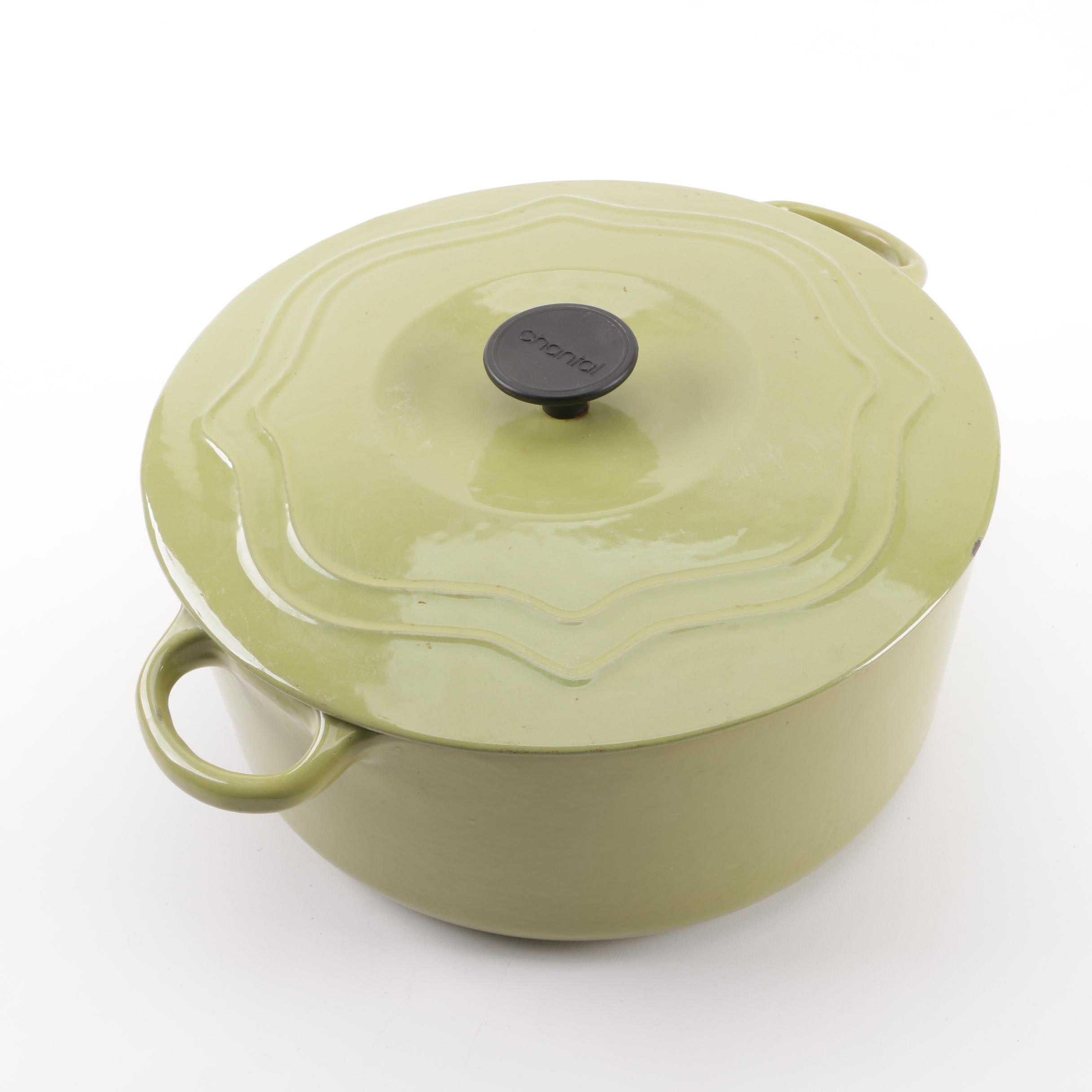 Chantal 8-Quart Enameled Cast Iron Dutch Oven