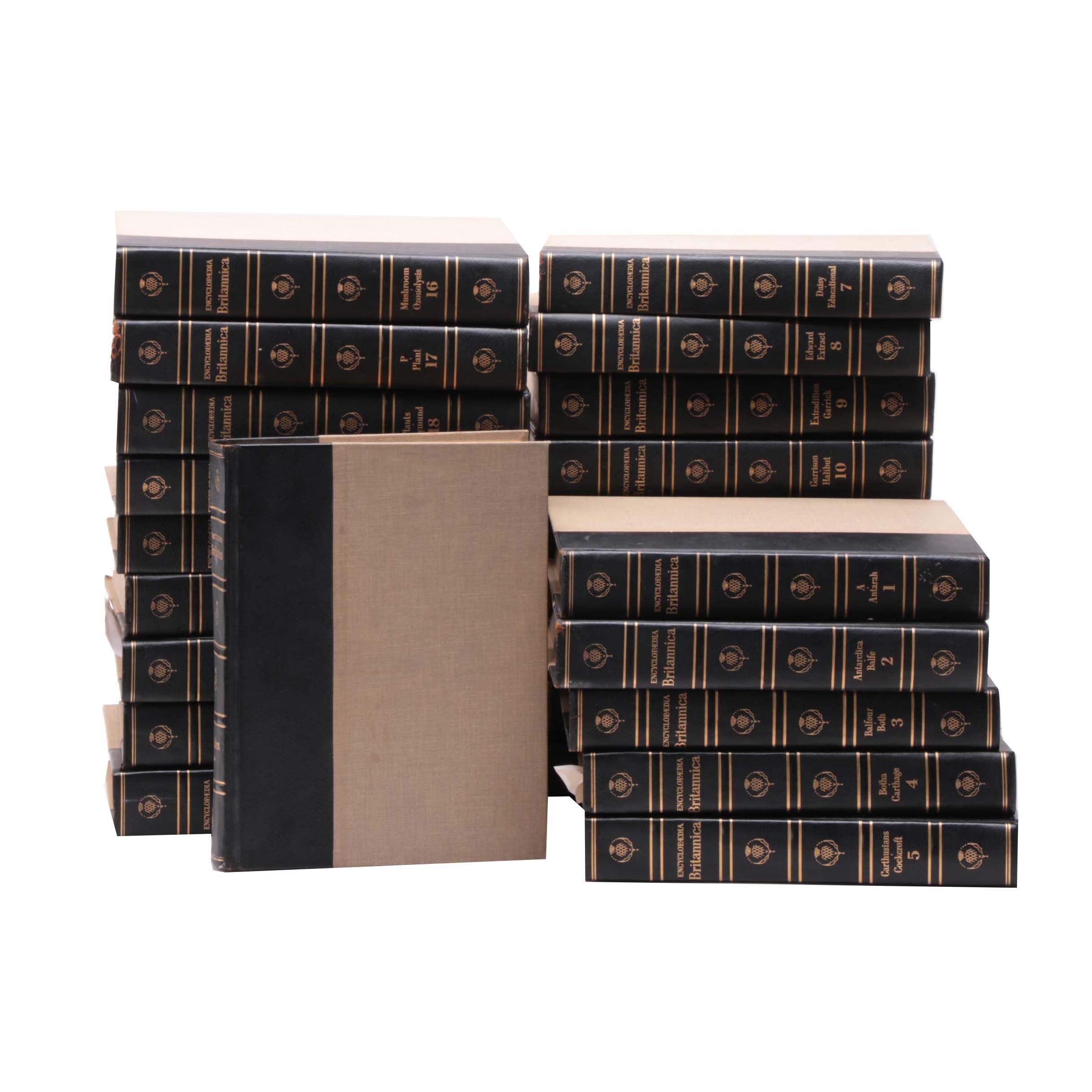 "1964 ""Encyclopedia Britannica"" in Twenty-Four Volumes"