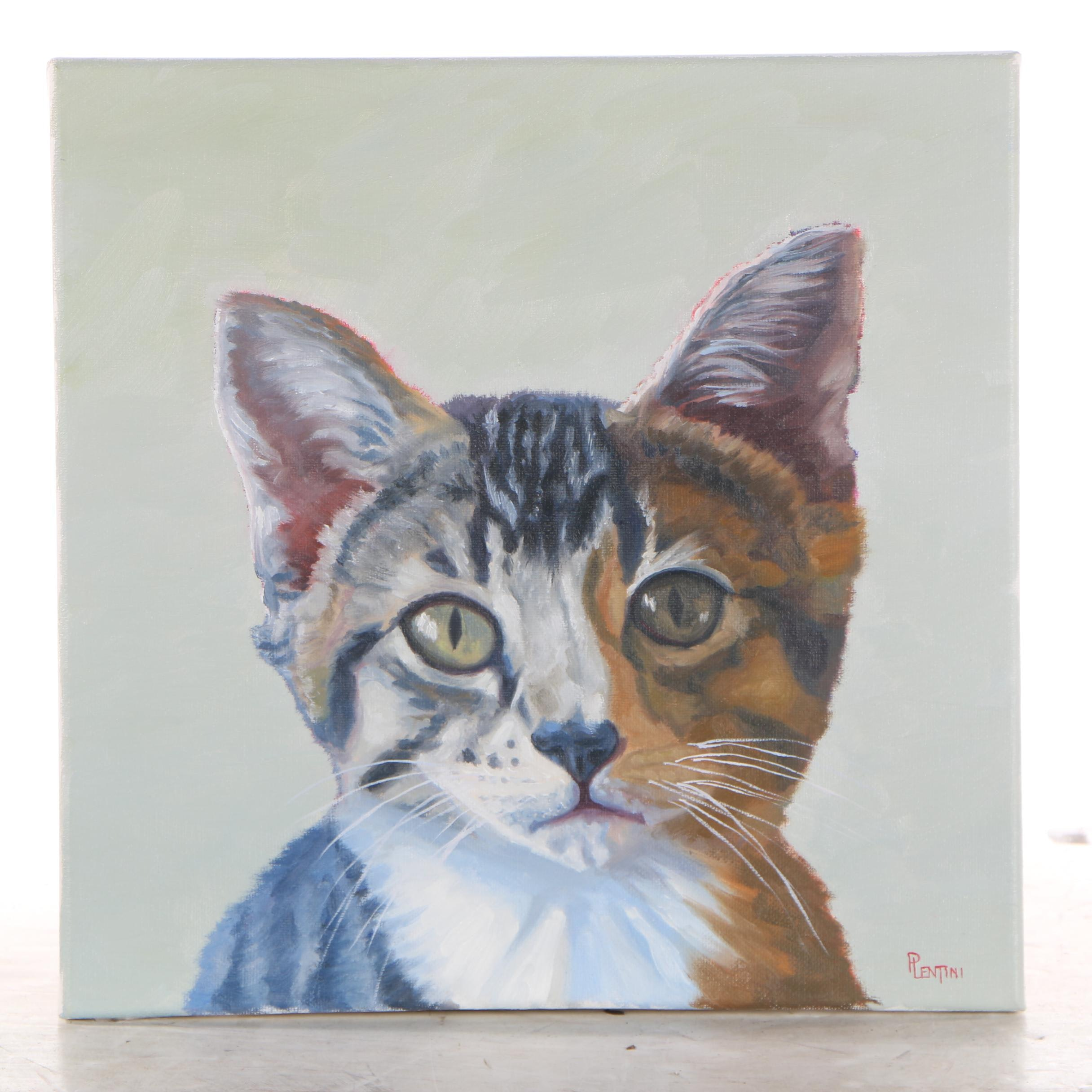 "Peter Lentini Oil Painting ""Fiducia"""