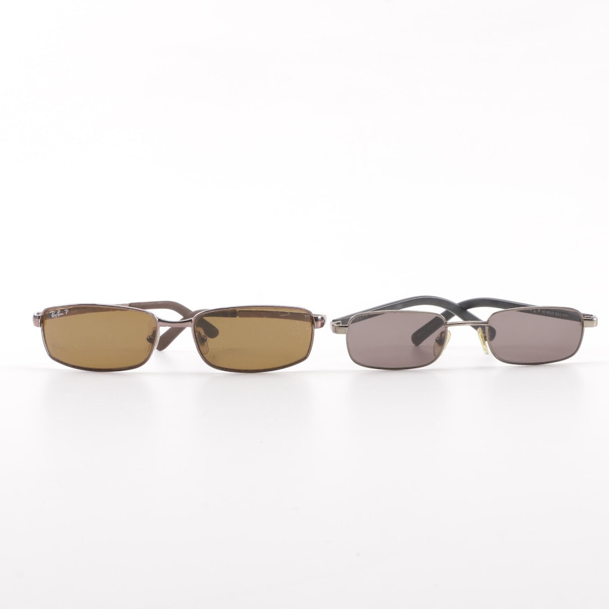 a4c3ec04f96 Ray-Ban RB 3194 and Ralph Lauren RALPH 950 S Sunglasses with Cases ...
