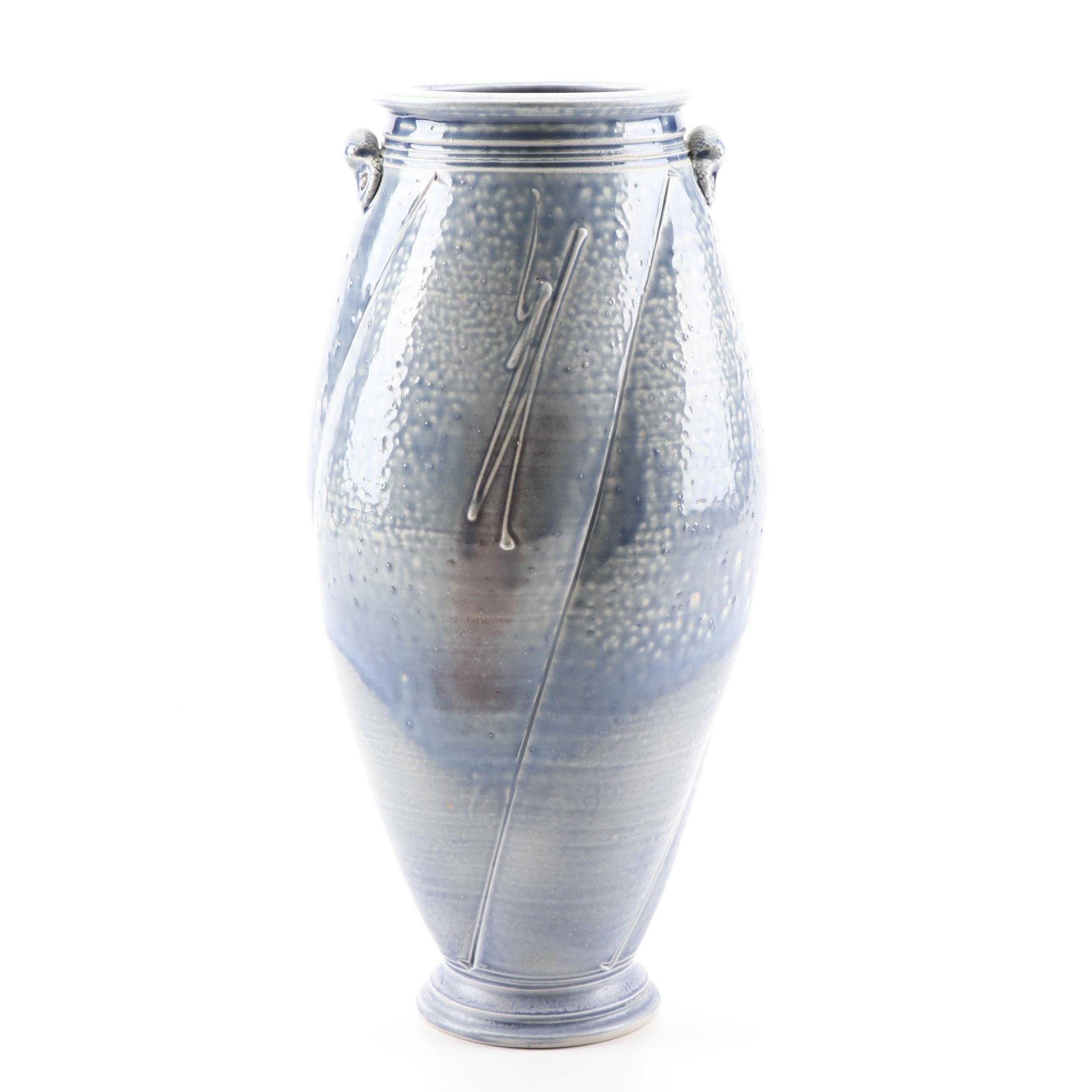 Geoffrey Lloyd Wheel Thrown Porcelain Vase