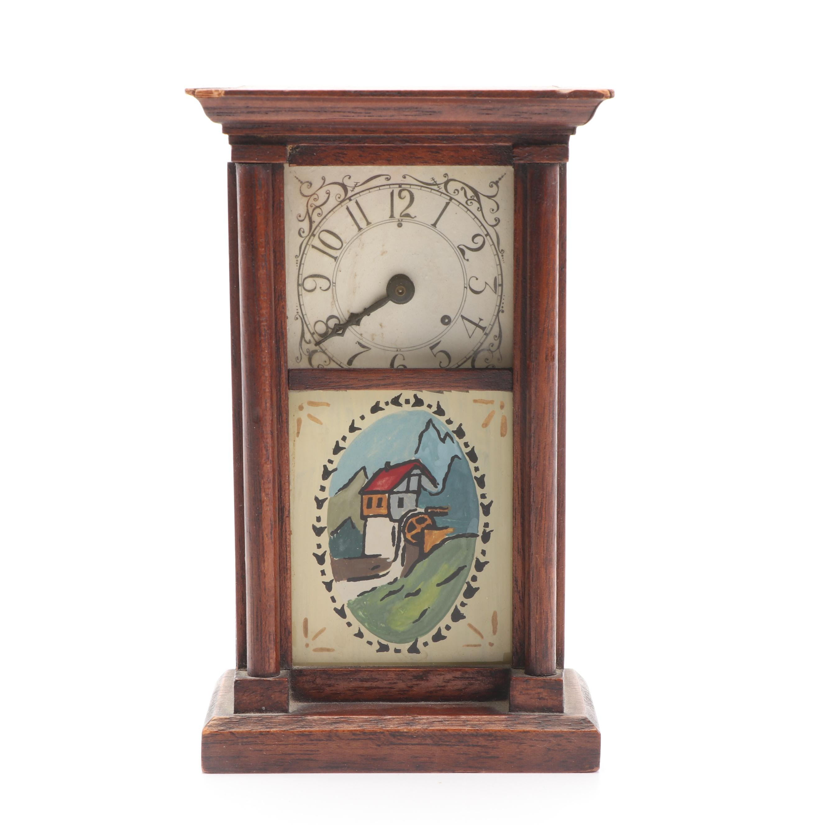 Marlow & Co. Miniature Reproduction of Jerome and Darrow Shelf Clock