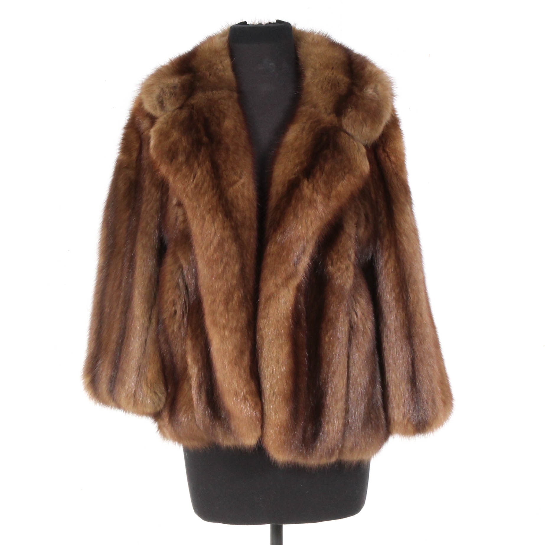 Vintage Sable Fur Jacket