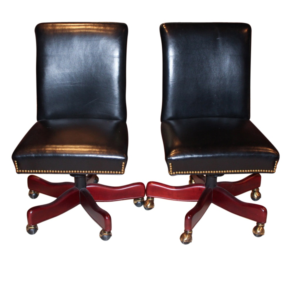 Pair of Hancock & Moore Desk Chairs