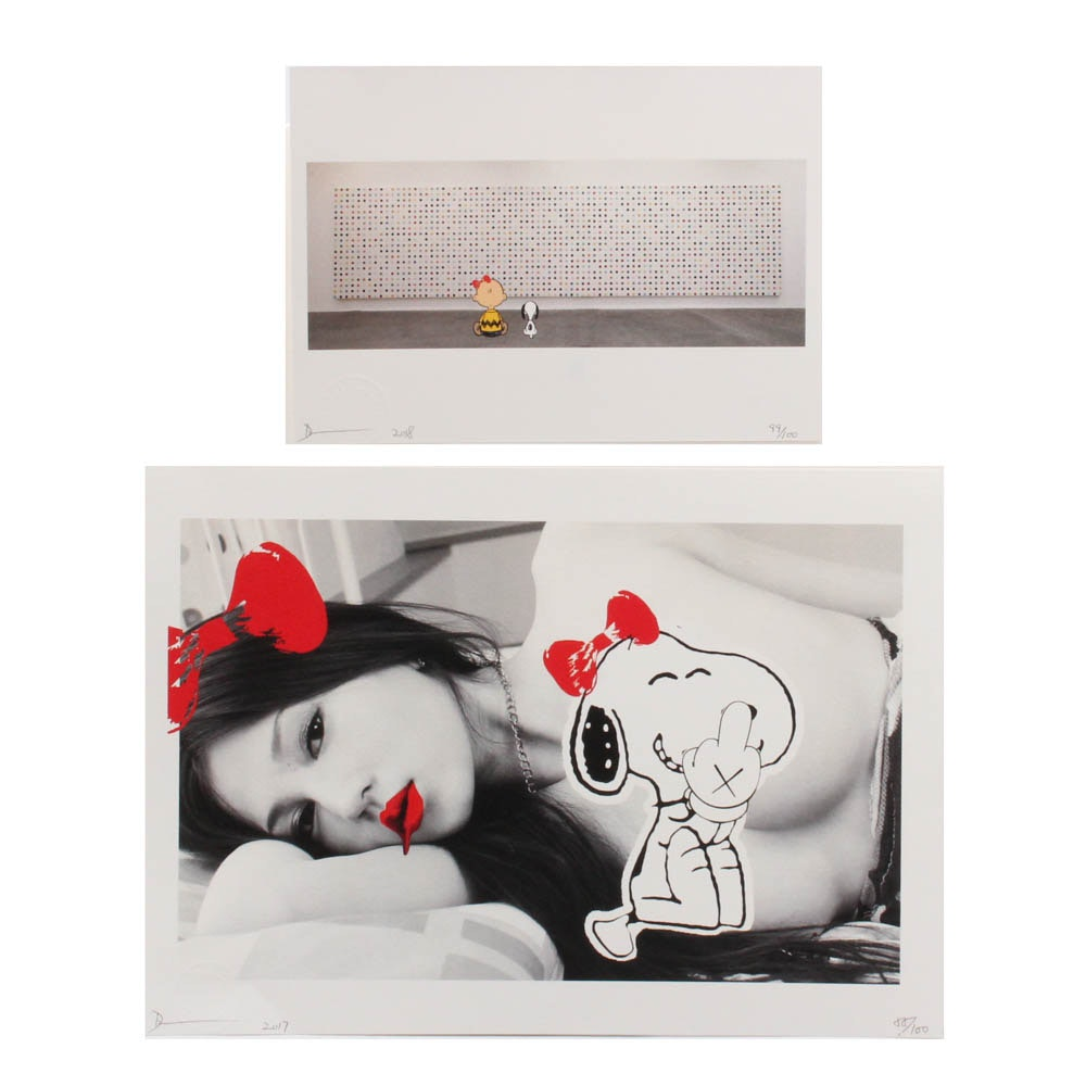 Two Death NYC Limited Edition Graphic Prints