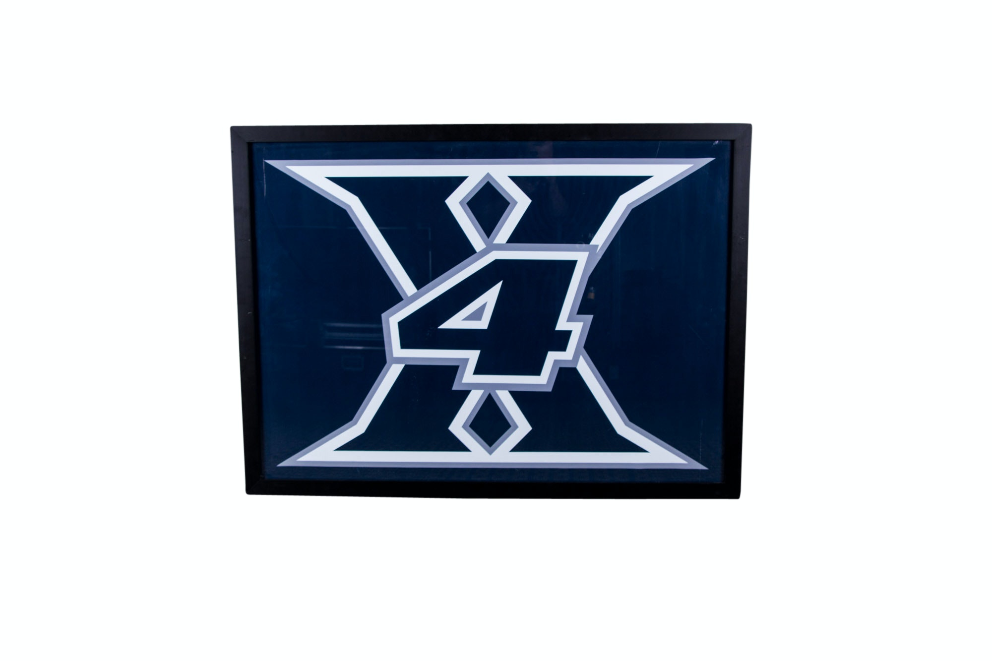 Xavier 4-Time Champion Atlantic-10 Framed Basketball Poster