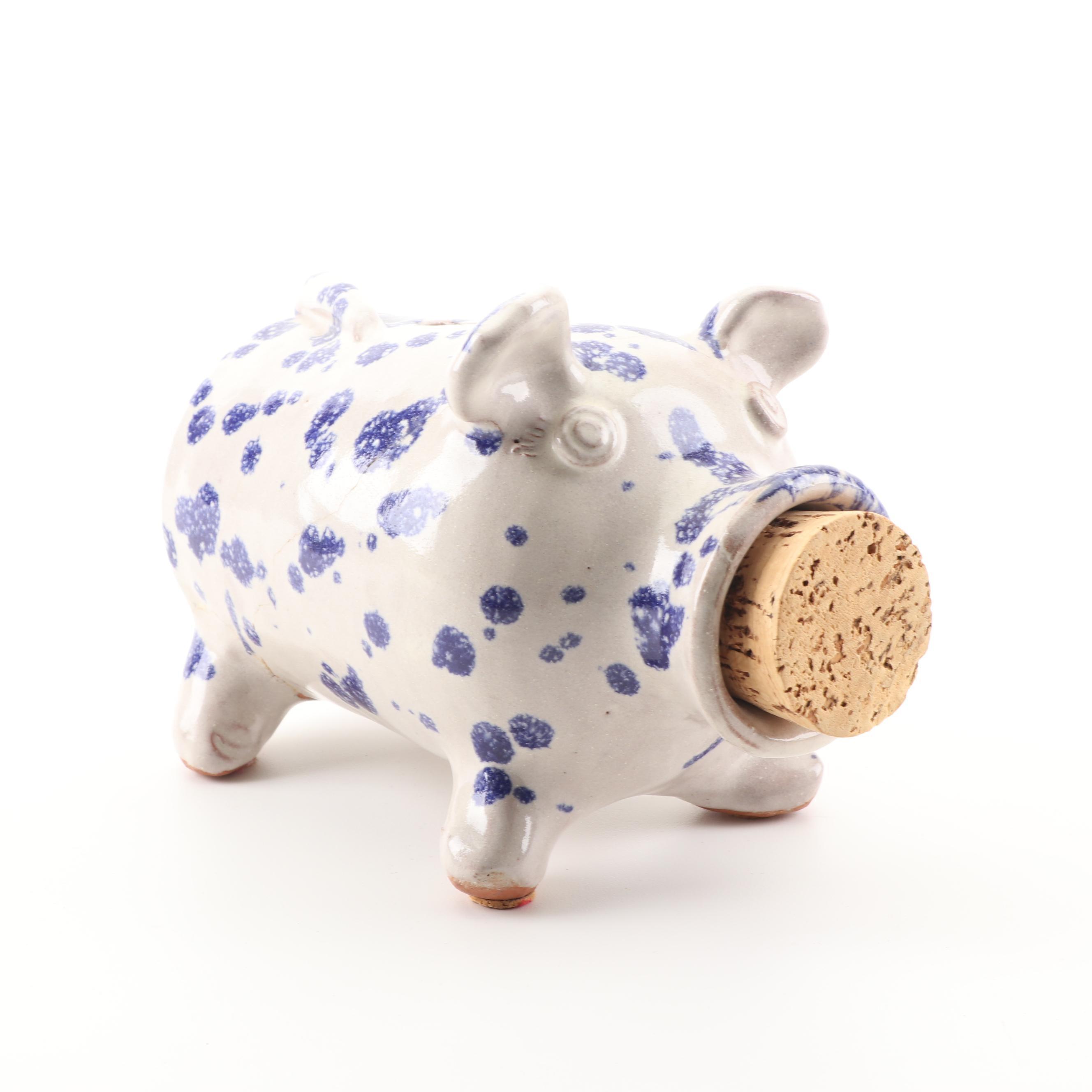 Earthenware Piggy Bank