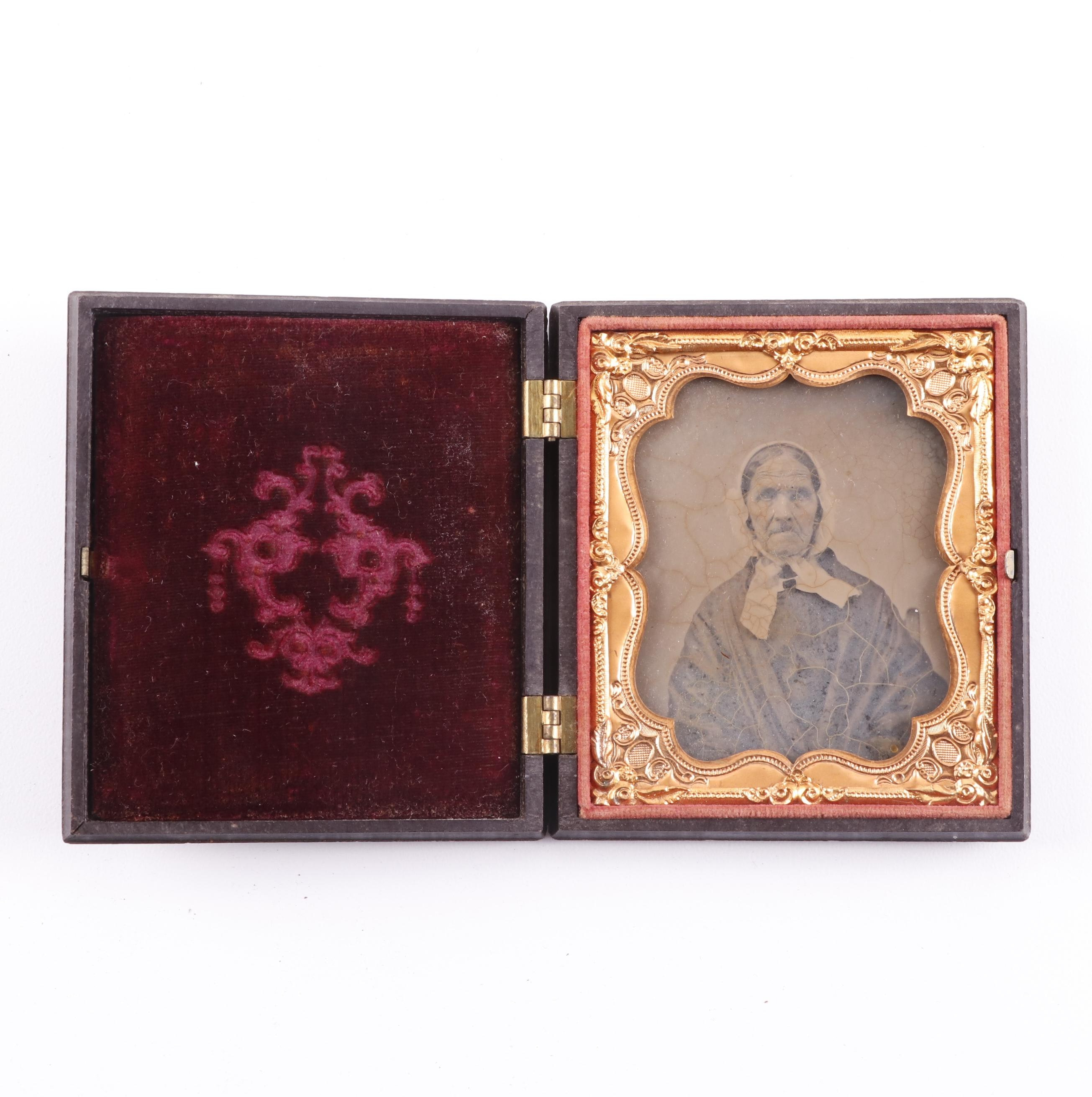 Fireman Thermoplastic 1/6 Plate Union Case with Ambrotype