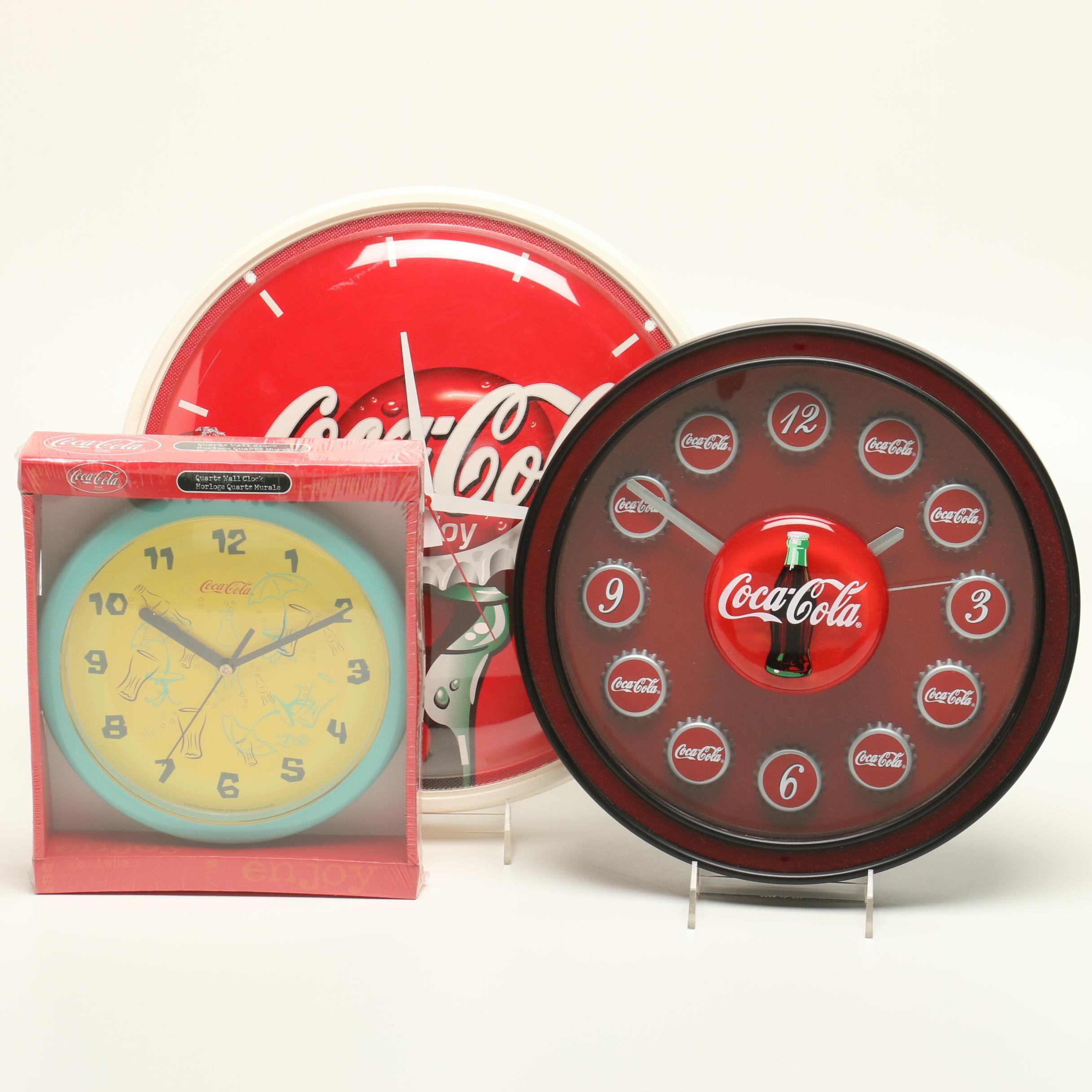 Collectible Coca-Cola Wall Clocks