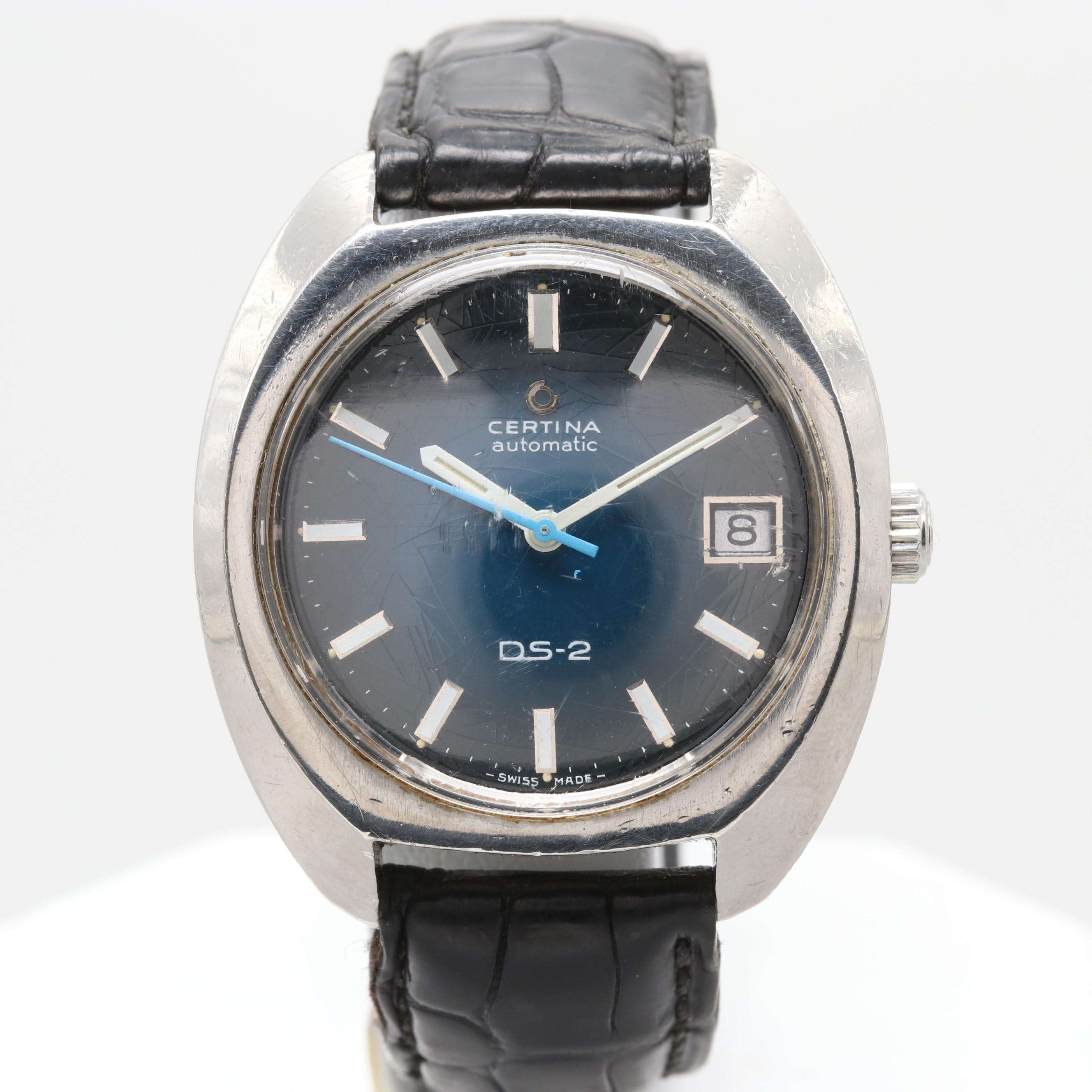 Certina DS-2 Stainless Steel Wristwatch With Date Window