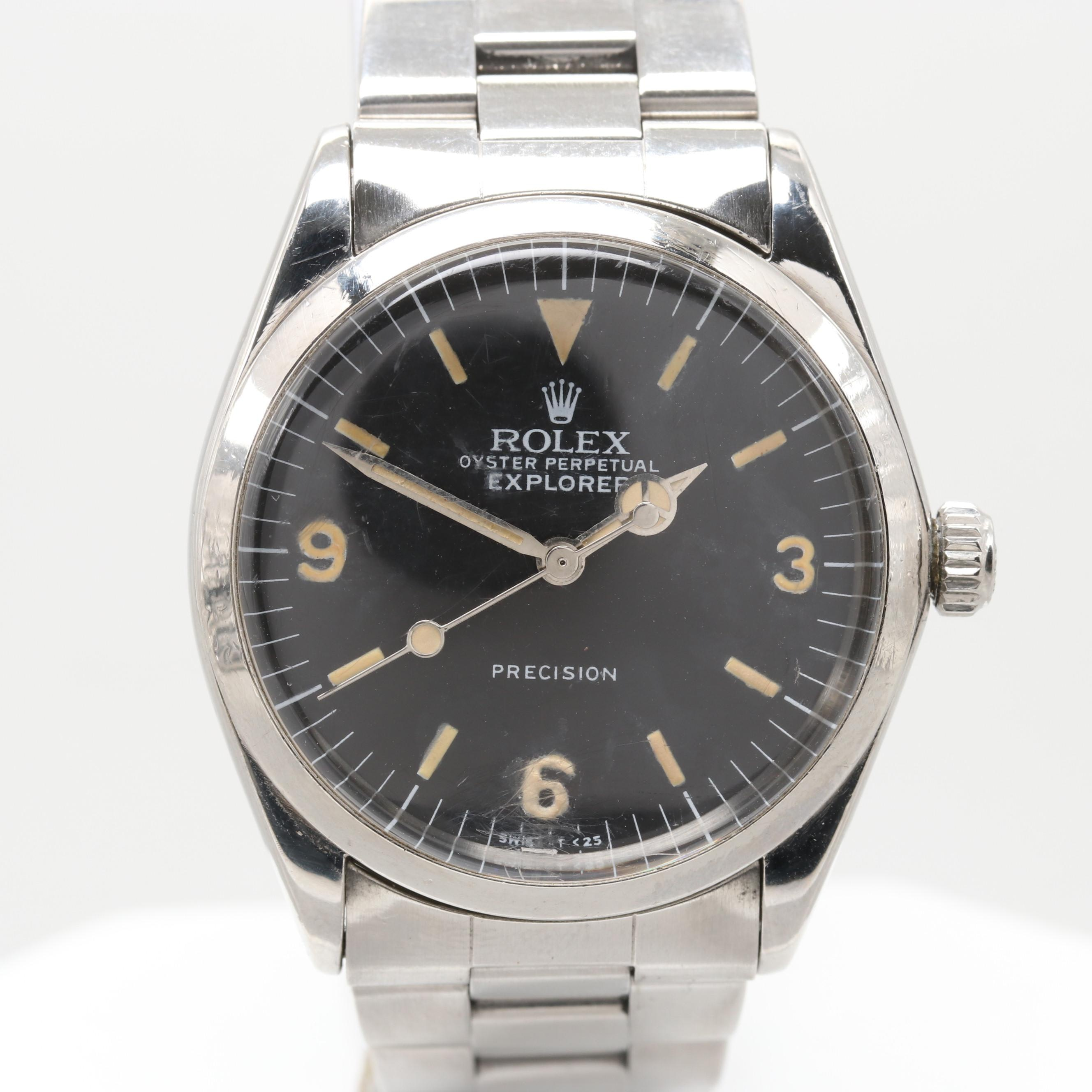 Rolex Explorer Automatic Wristwatch, 1965