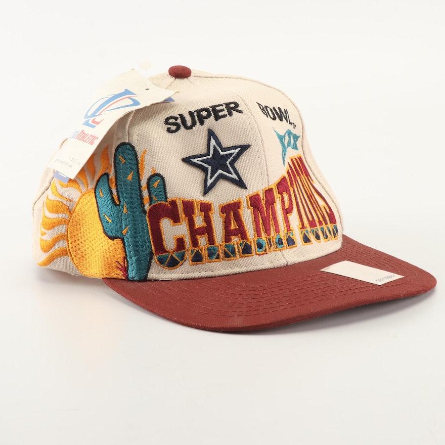eb75c481586 Dallas Cowboys Superbowl XXX Logo-Athletic Hat and World Champions Ball ...