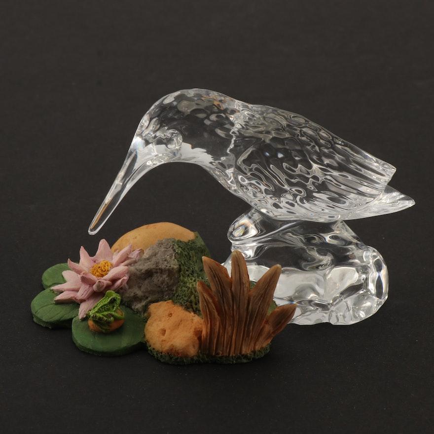 7da0de551 Waterford Crystal Kingfisher Figurine   EBTH