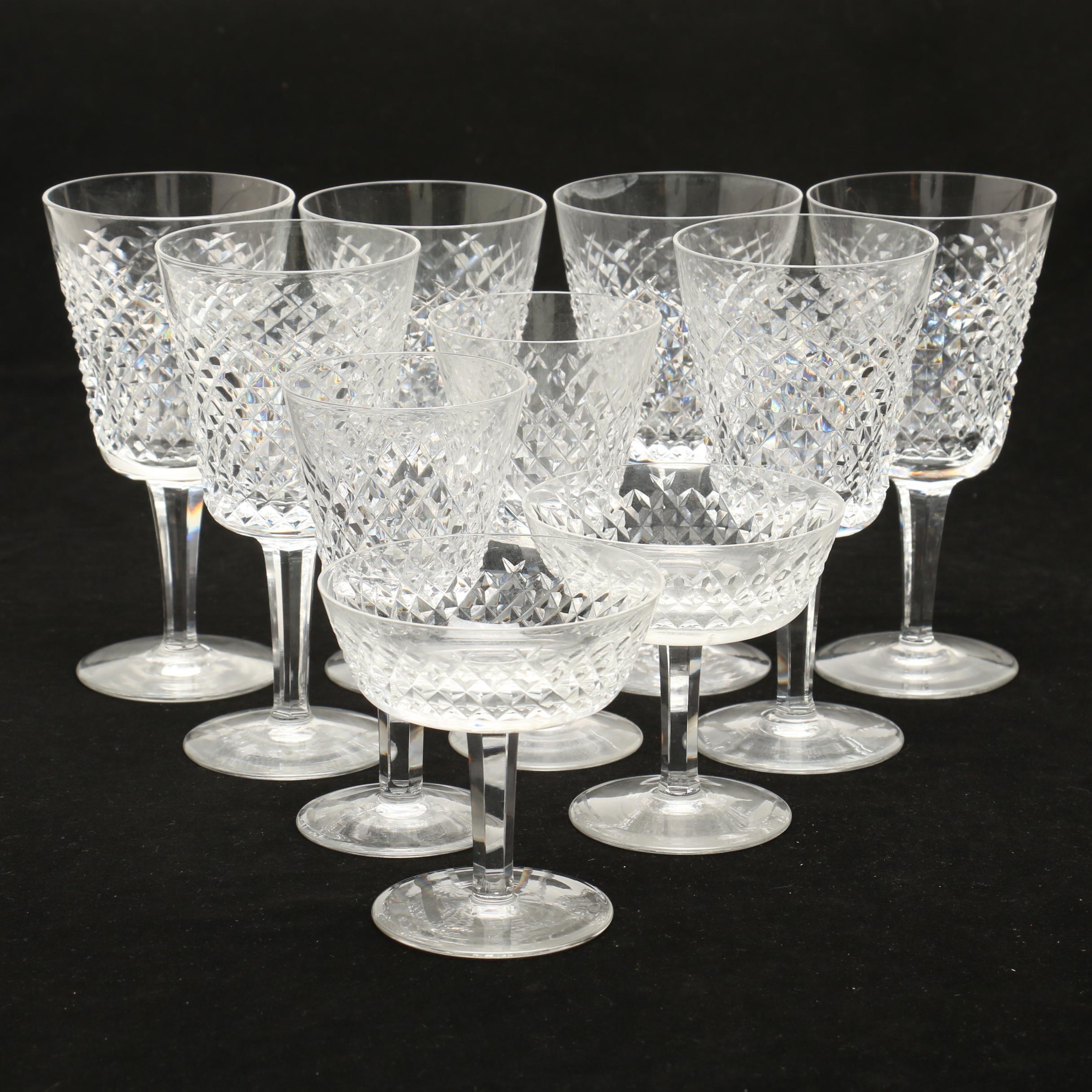 "Waterford Crystal ""Alana"" Stemware"