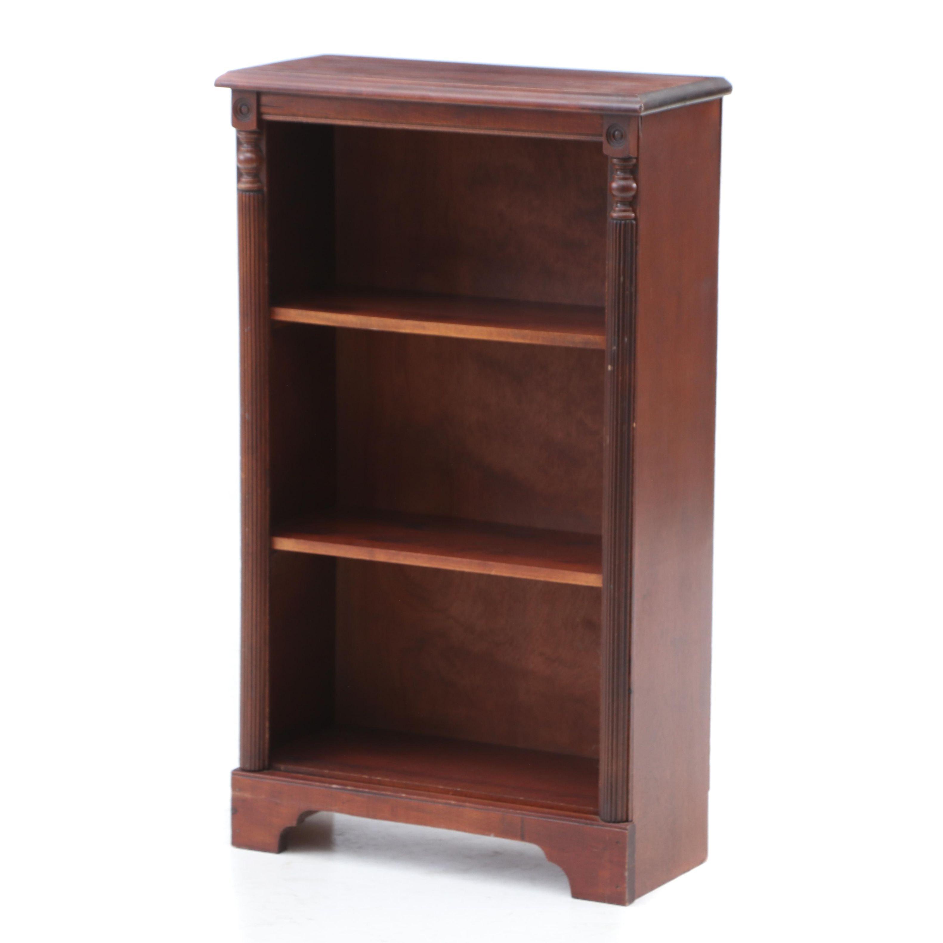 Mahogany Bookcase, Late 20th Century
