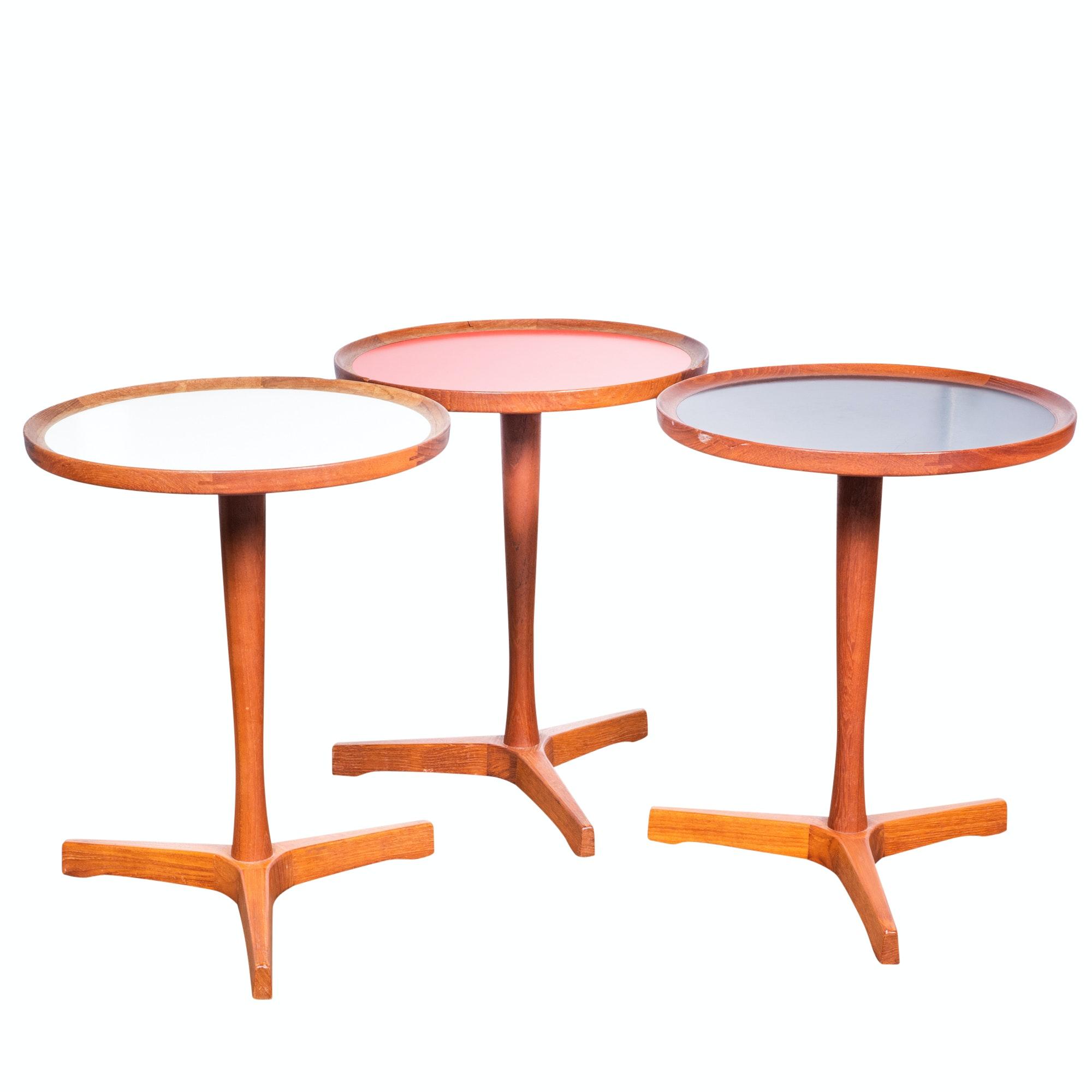 Danish Modern Teak Side Table Set by Hans C. Andersen, Mid-20th Century
