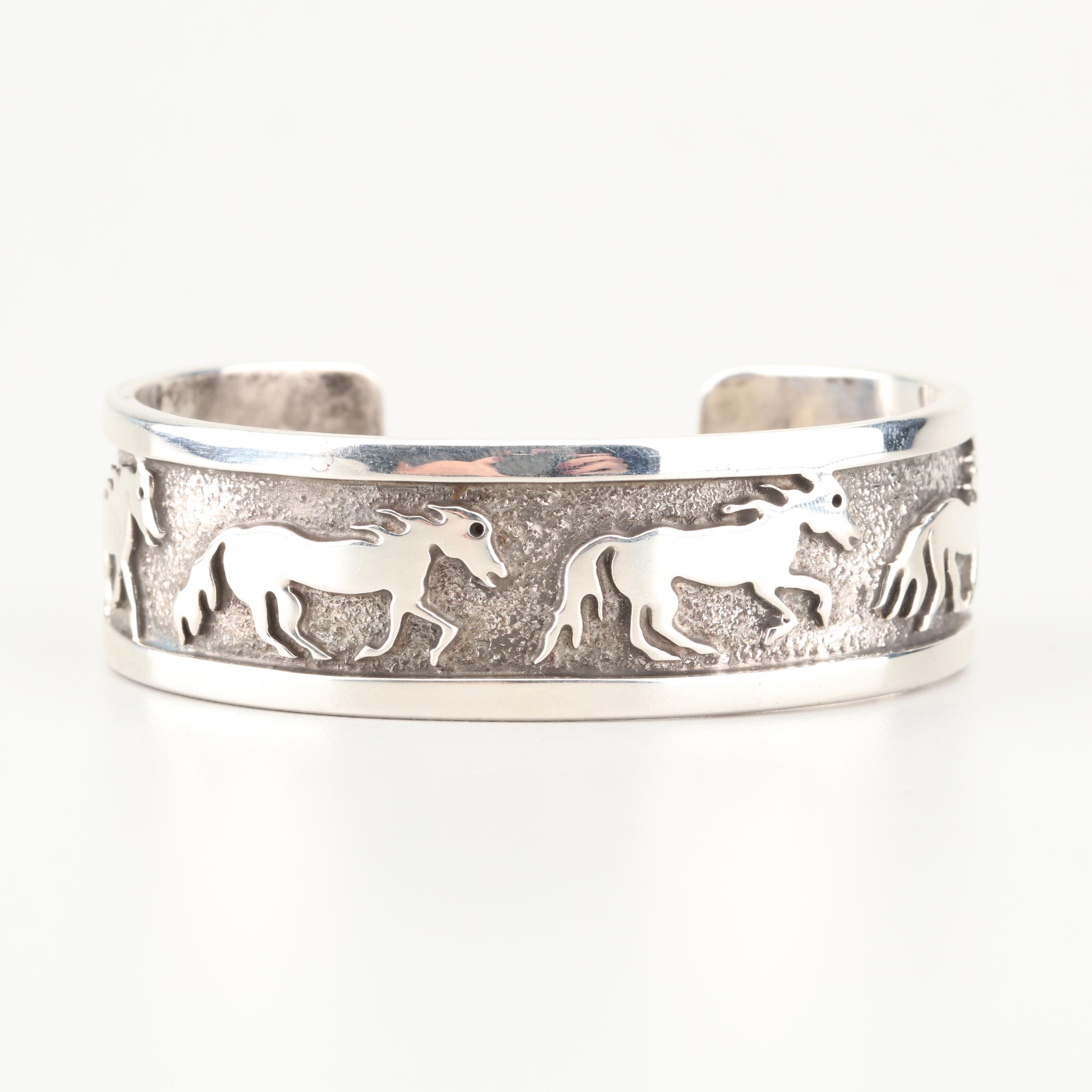 Jackson Sterling Silver Cuff Bracelet