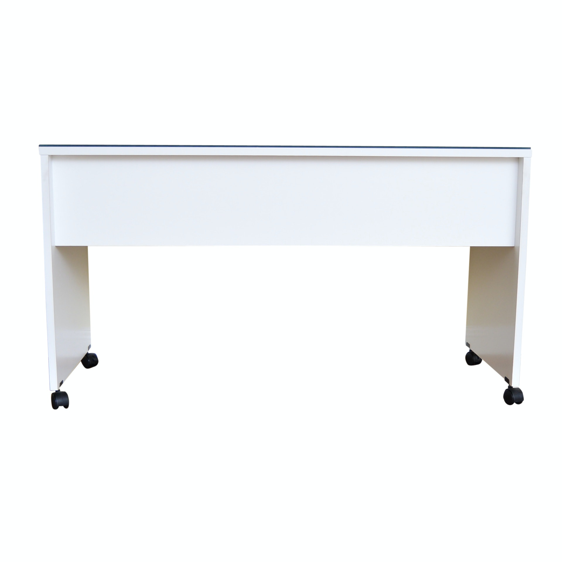 Contemporary White Laminate Table/Desk