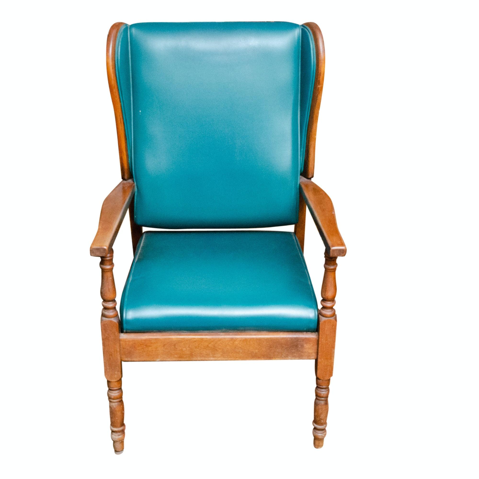Vintage C. H. Hartshorn Wingback Armchair