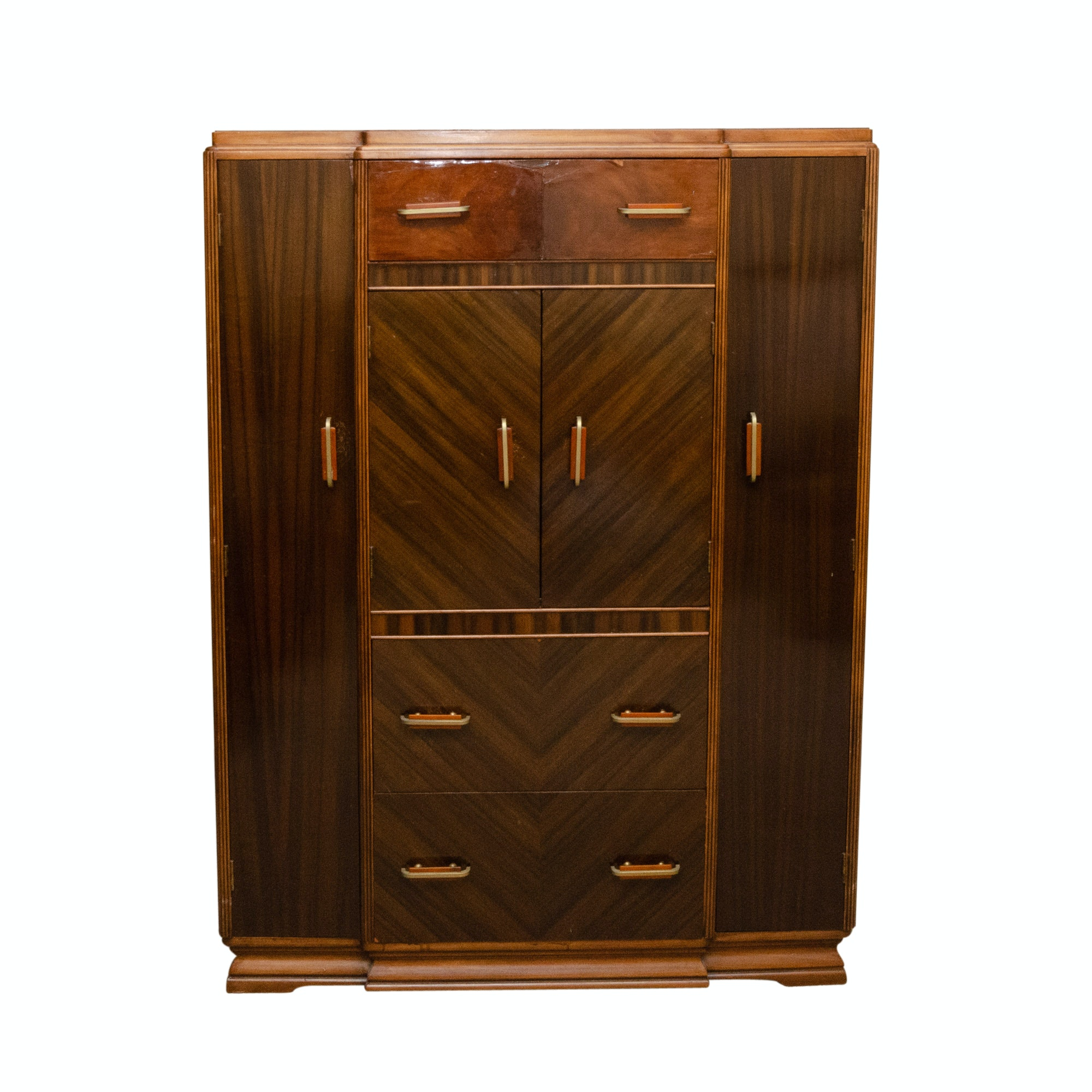 1940s Art Deco Style Waterfall Wardrobe