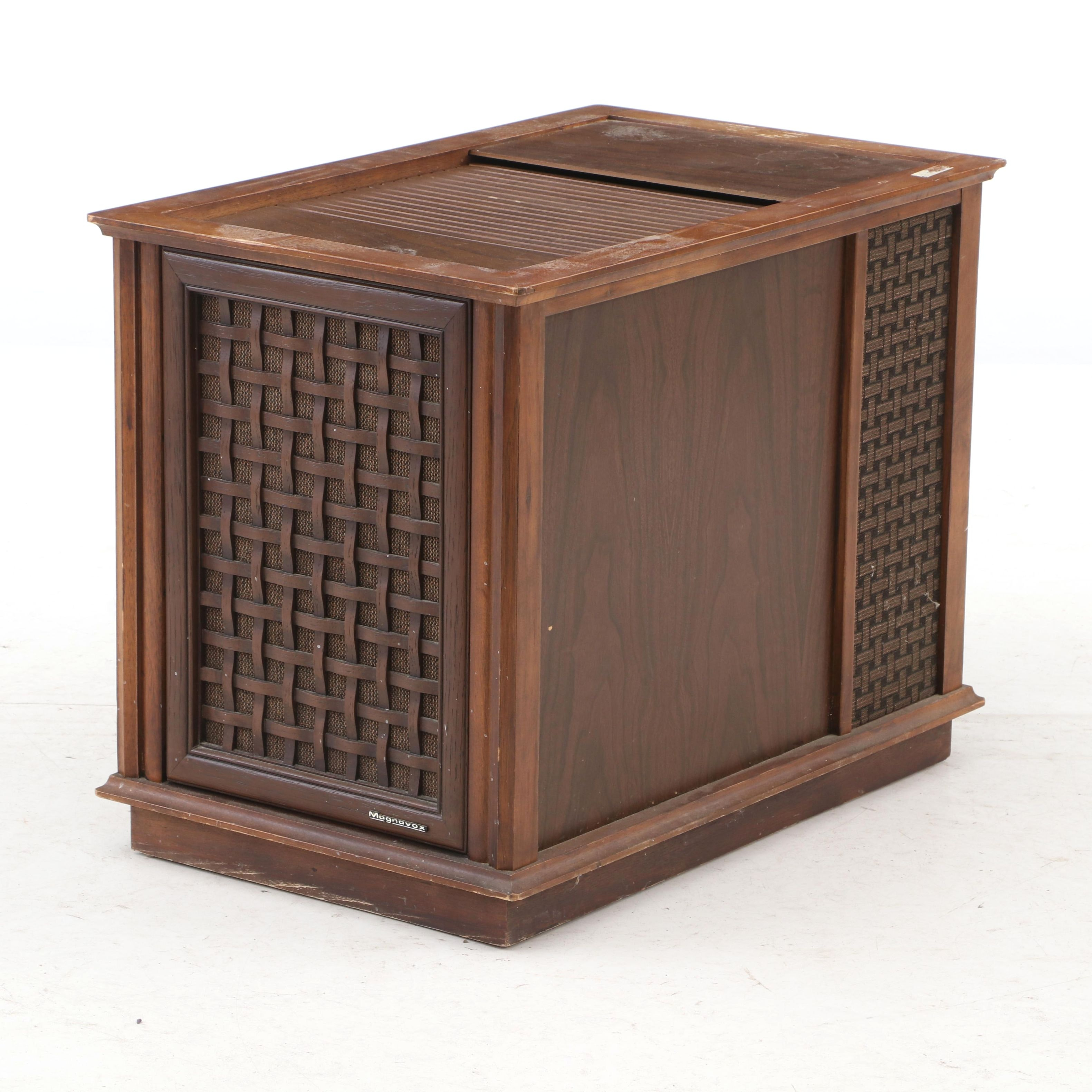 Vintage Magnavox Micromatic Stereo Cabinet