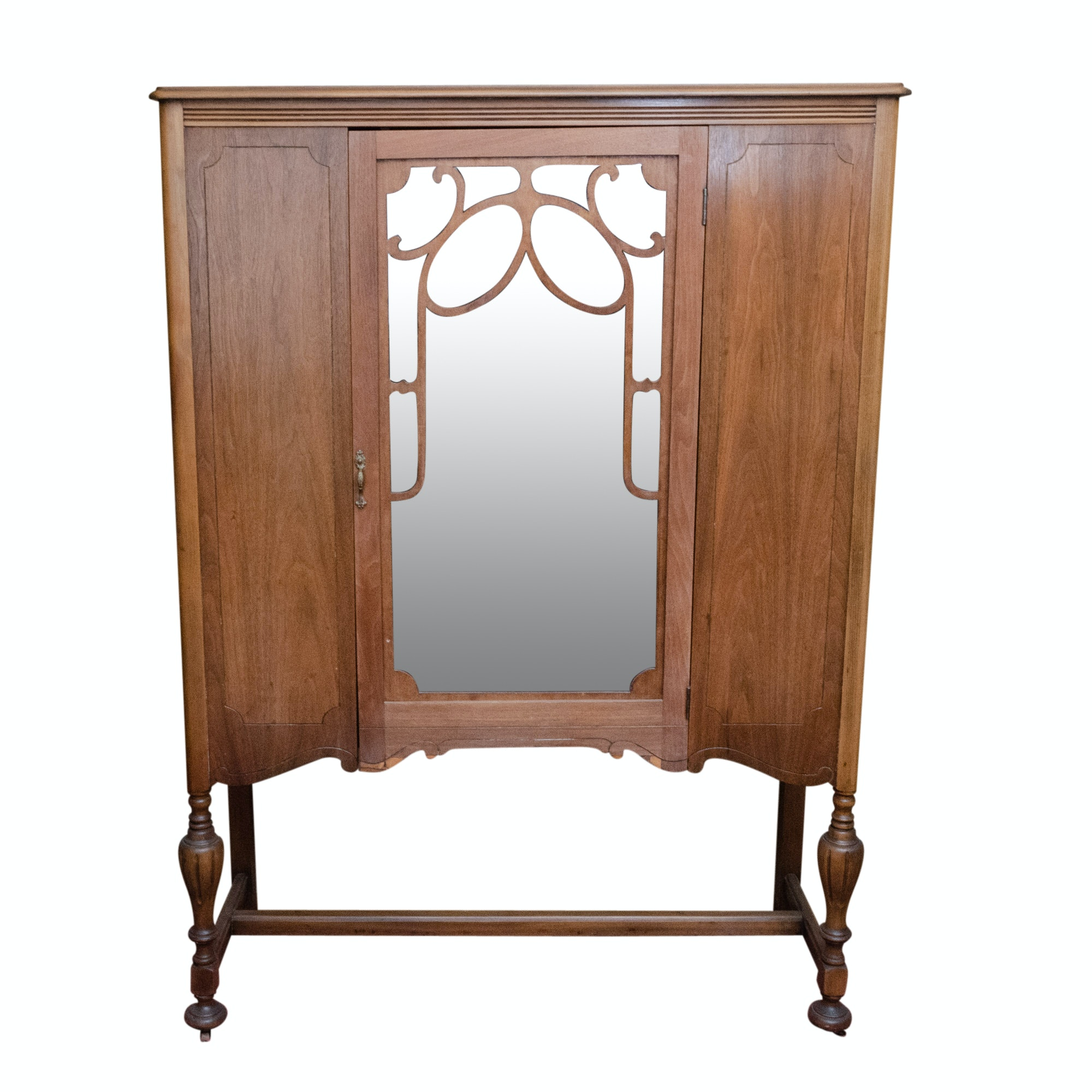 1930s Georgian Style China Cabinet
